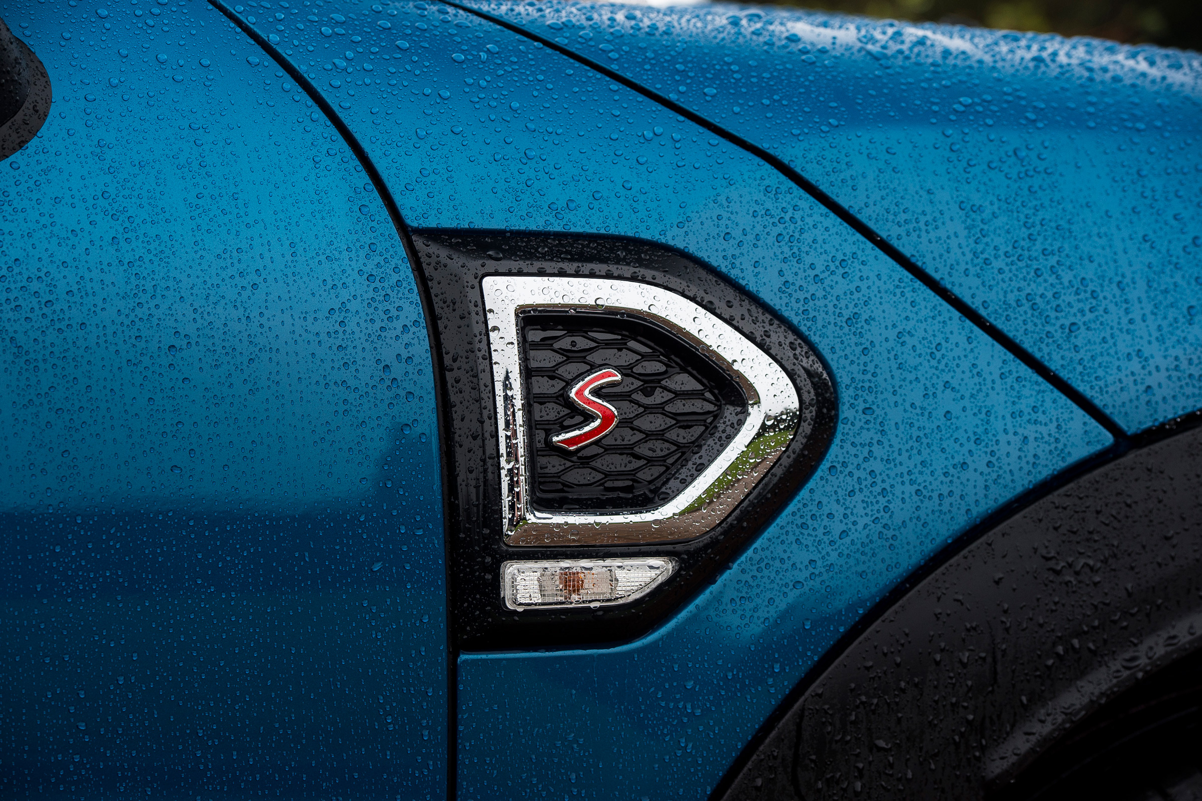 2017 MINI Countryman Exterior View Side Badge (Photo 52 of 61)