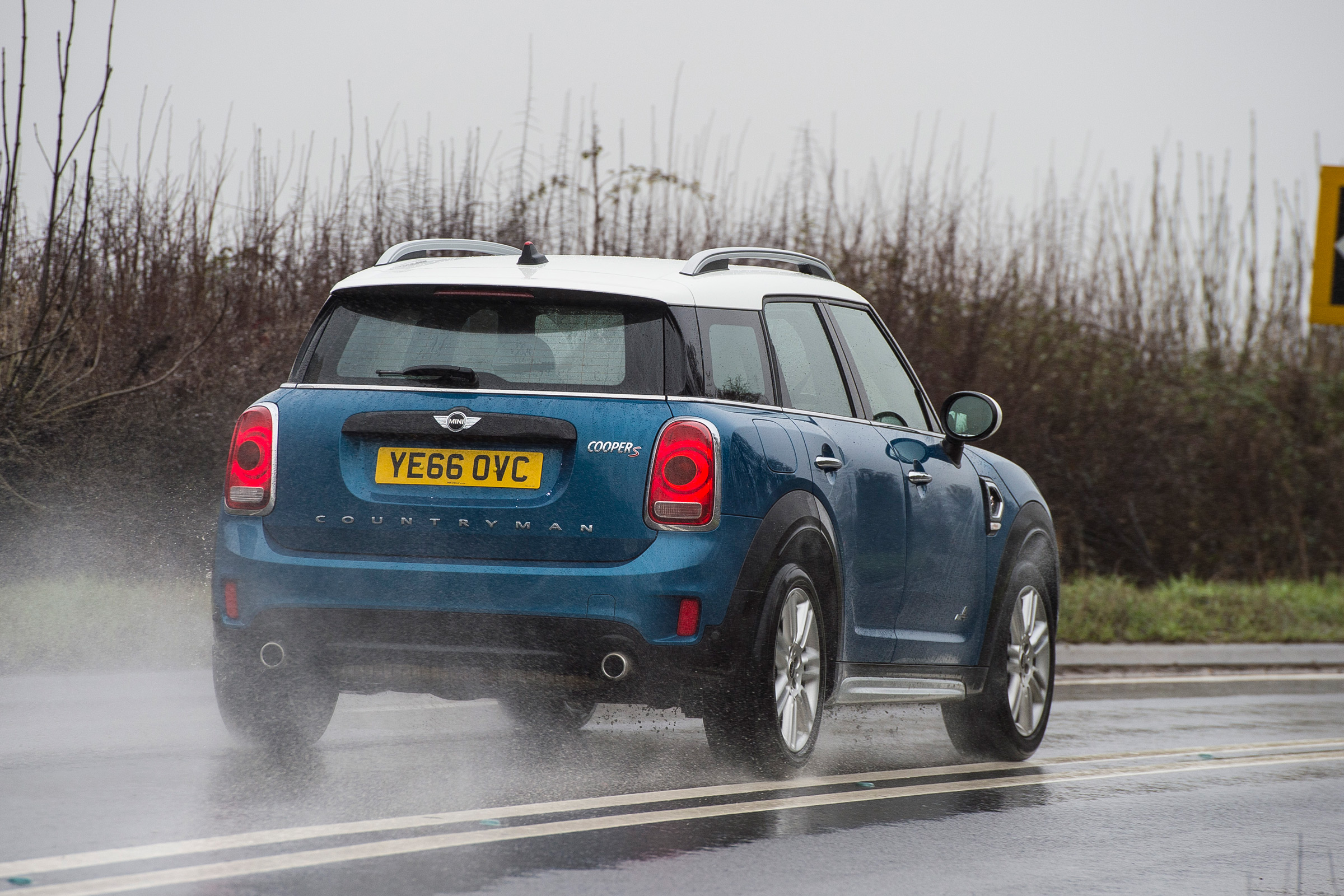 2017 MINI Countryman Test Drive Rear View (Photo 60 of 61)