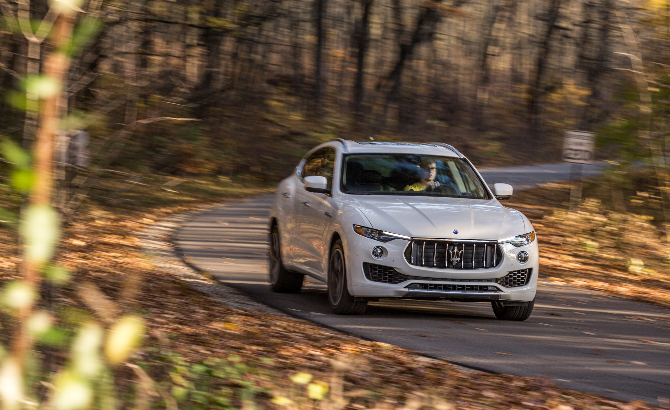 2017 Maserati Levante S Q4 Test Drive Front View (Photo 16 of 21)