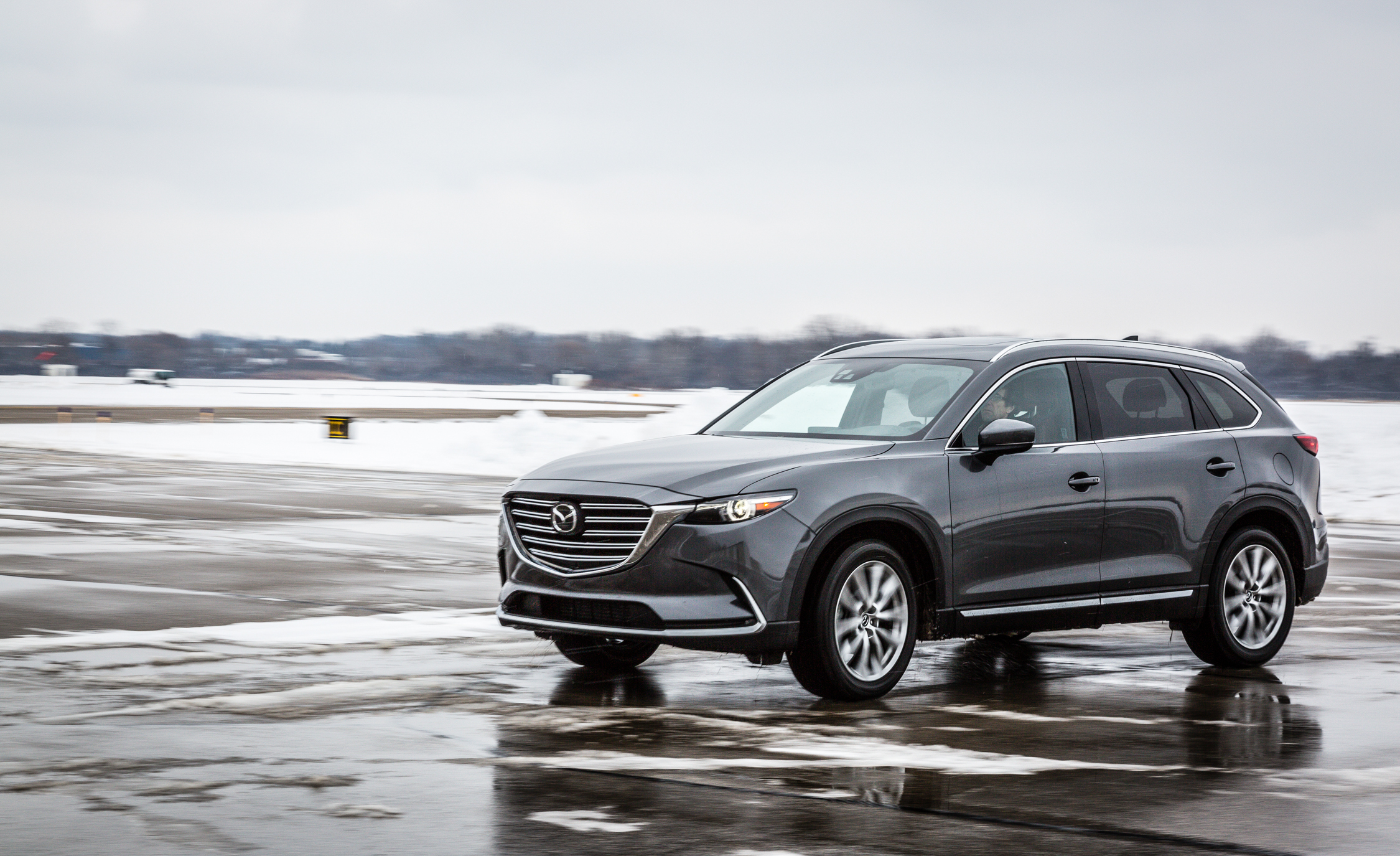 2017 Mazda CX 9 Test Drive Side And Front View (View 4 of 28)
