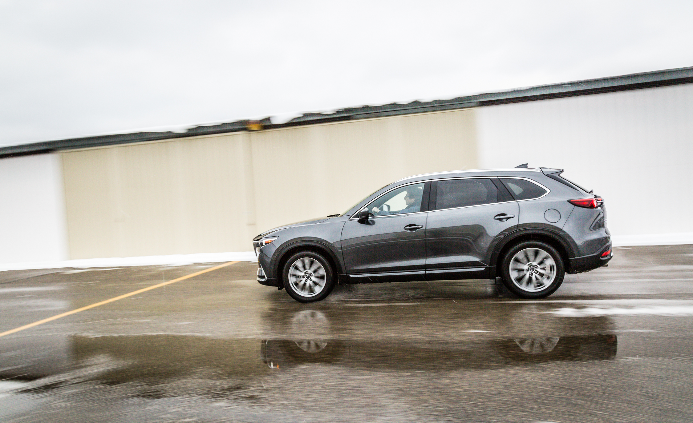 2017 Mazda CX 9 Test Drive Side View (View 2 of 28)