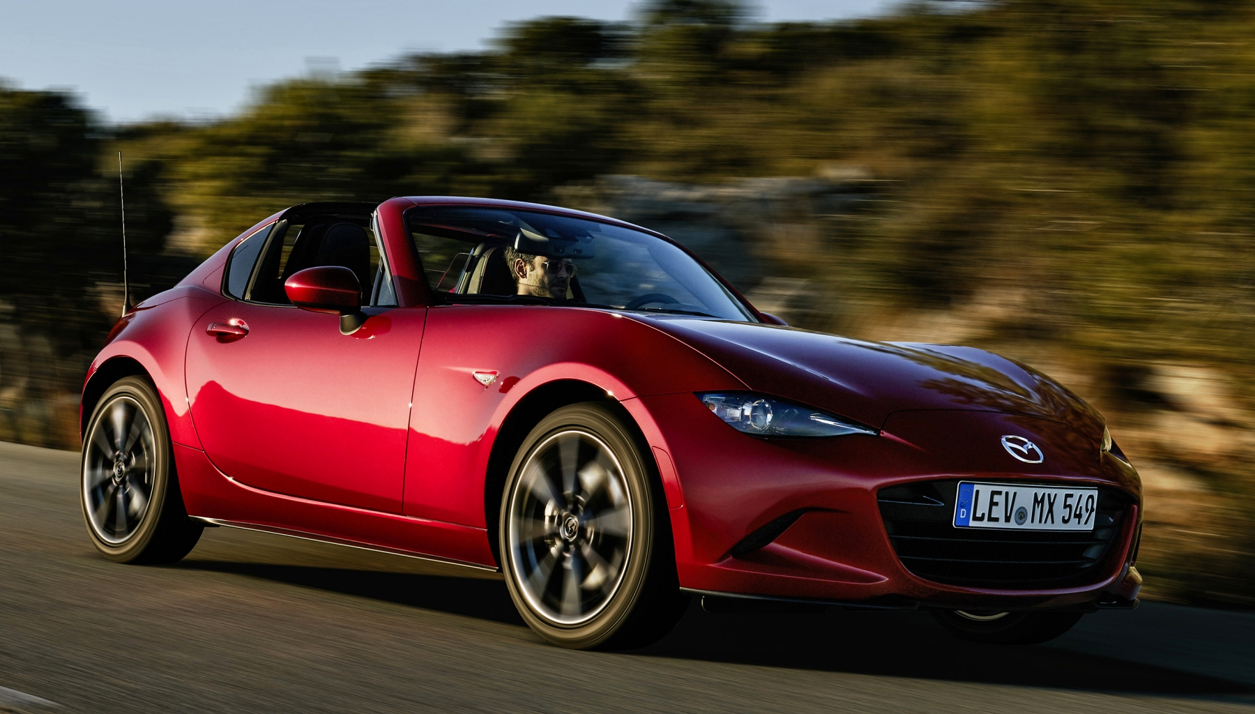 2017 Mazda MX 5 RF Red Test Drive (Photo 13 of 20)
