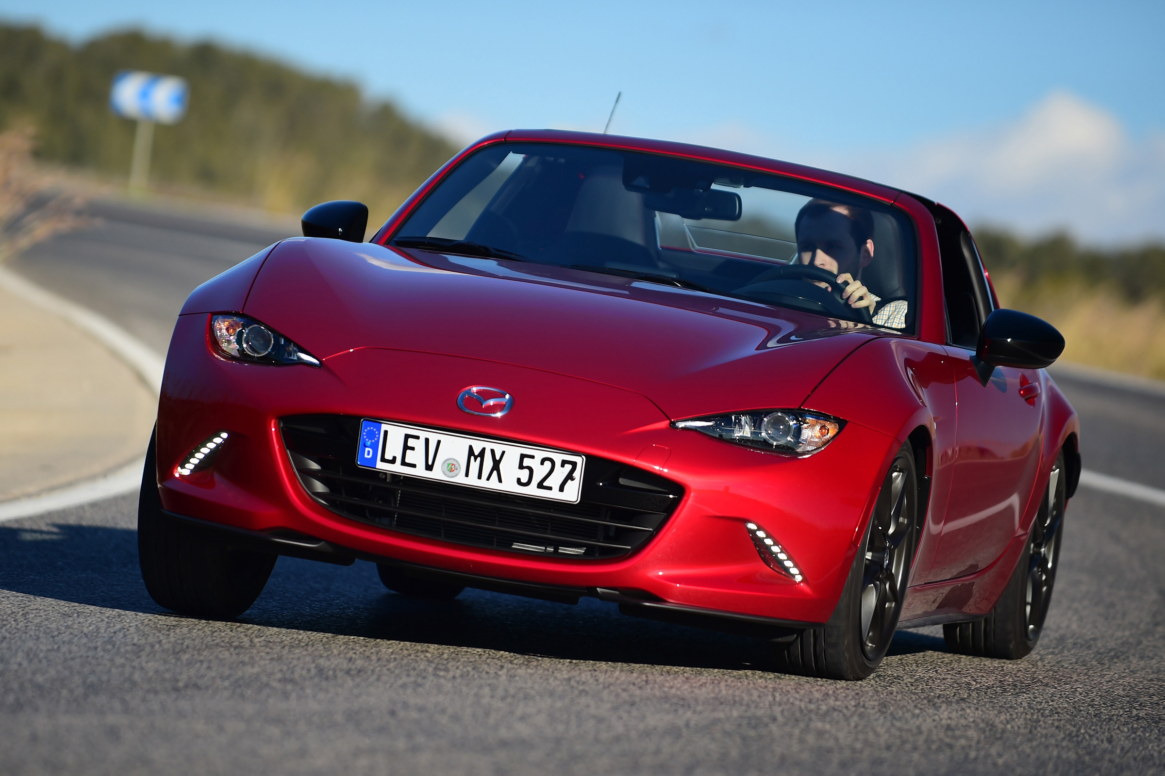 2017 Mazda MX 5 RF Test Drive Front View (Photo 17 of 20)