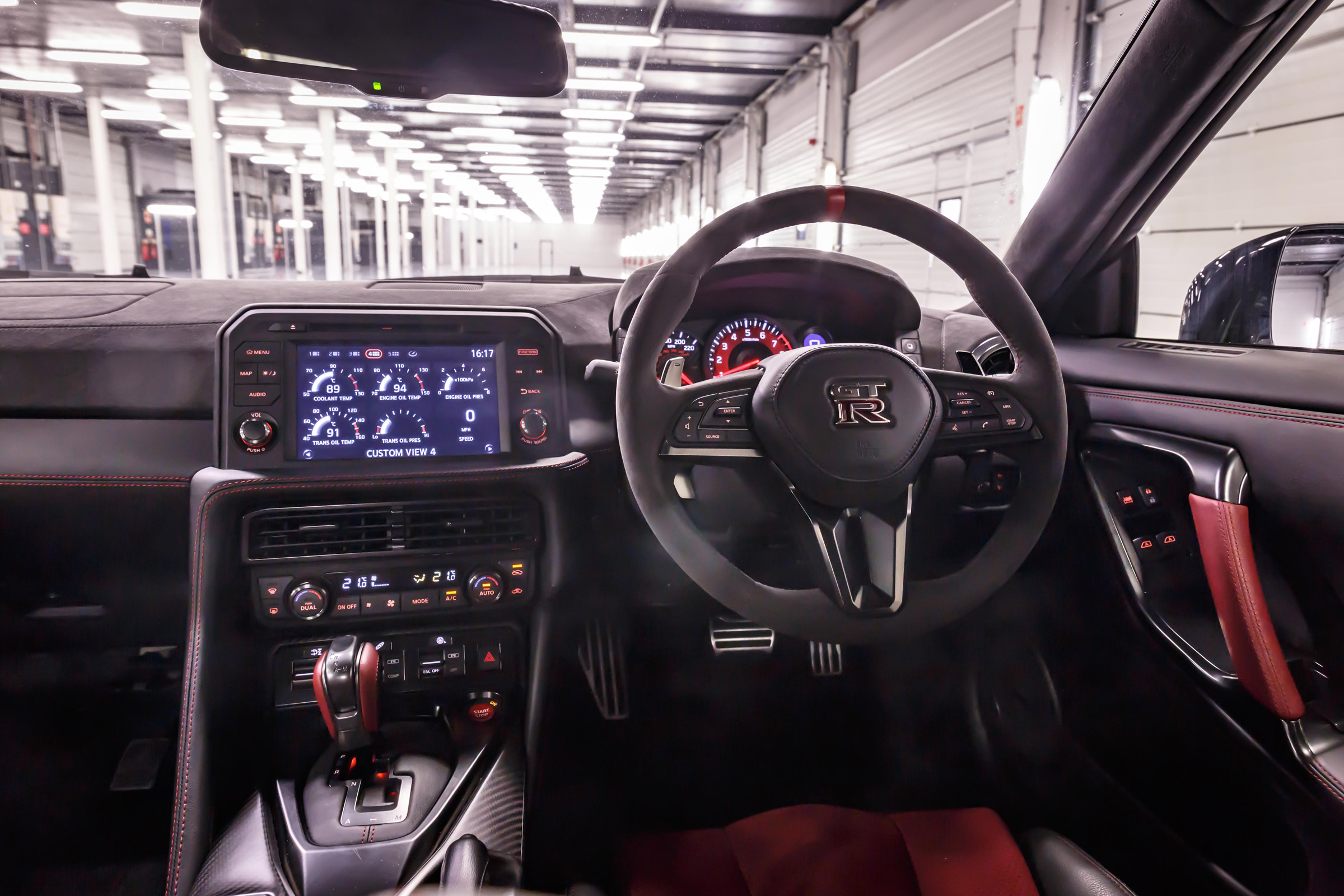 2017 Nissan GT R NISMO Interior View Steering And Dashboard (Photo 15 of 22)