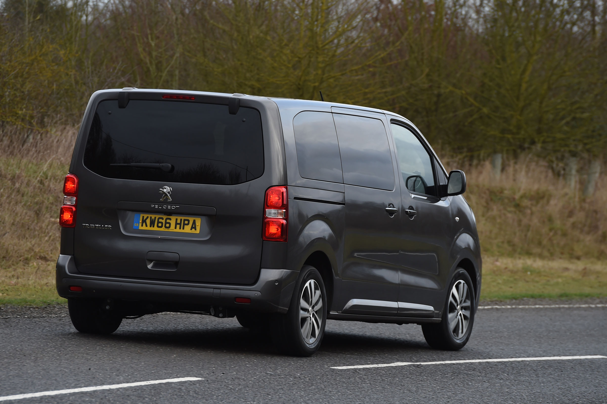 2017 Peugeot Traveller Allure Test Drive Rear View (Photo 12 of 13)