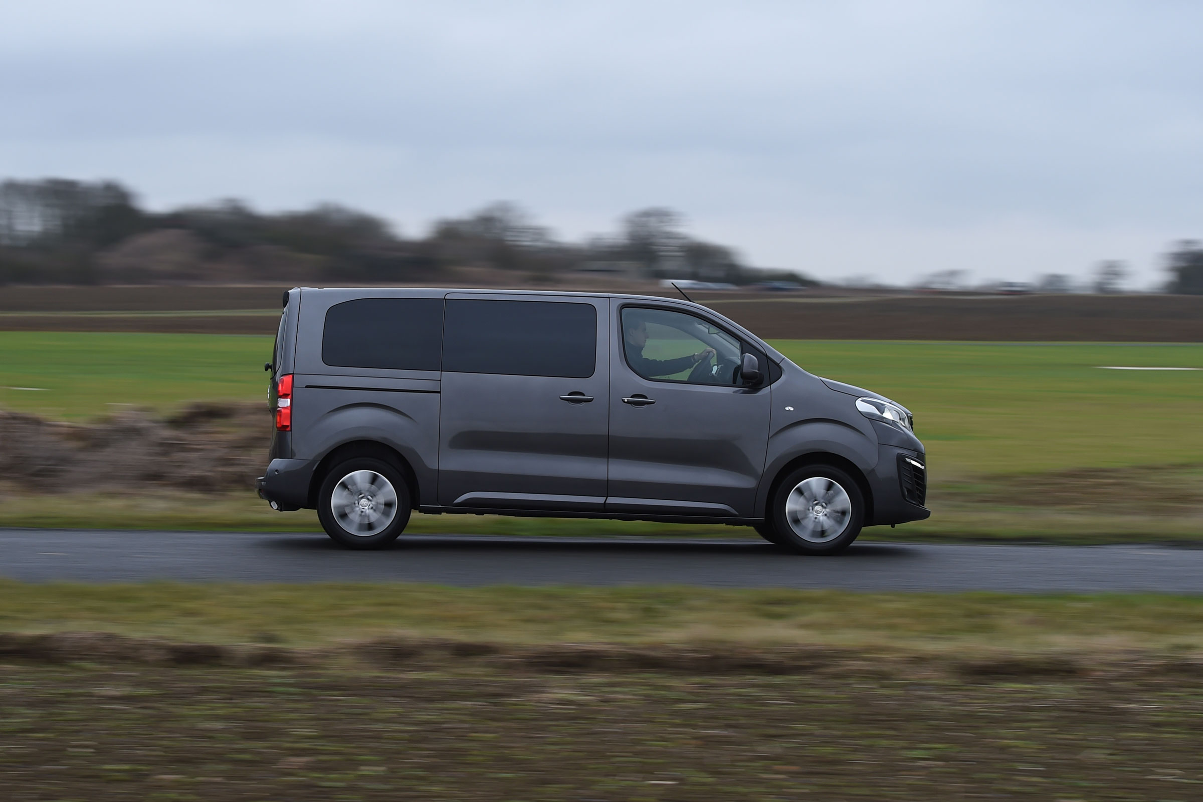 2017 Peugeot Traveller Allure Test Drive Side View (Photo 13 of 13)