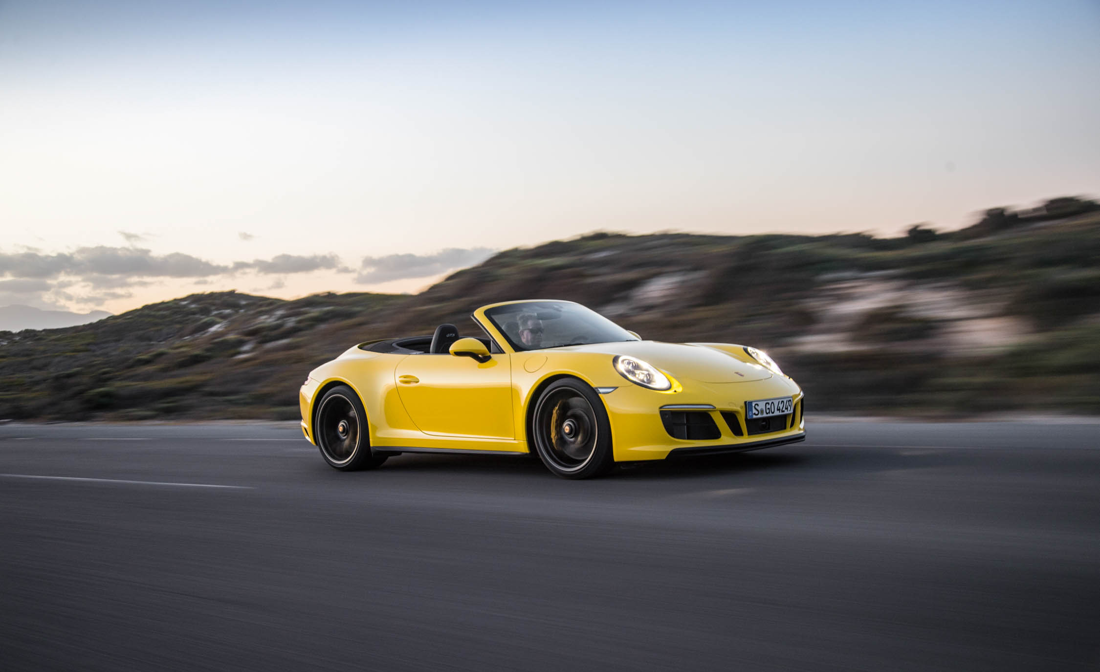 2017 Porsche 911 Carrera 4 GTS Cabriolet Color Yellow (Photo 2 of 97)