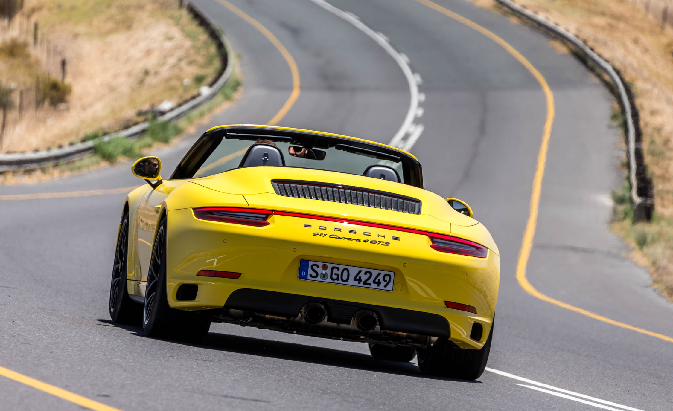 2017 Porsche 911 Carrera 4 GTS Cabriolet Test Drive Rear Corner (Photo 13 of 97)