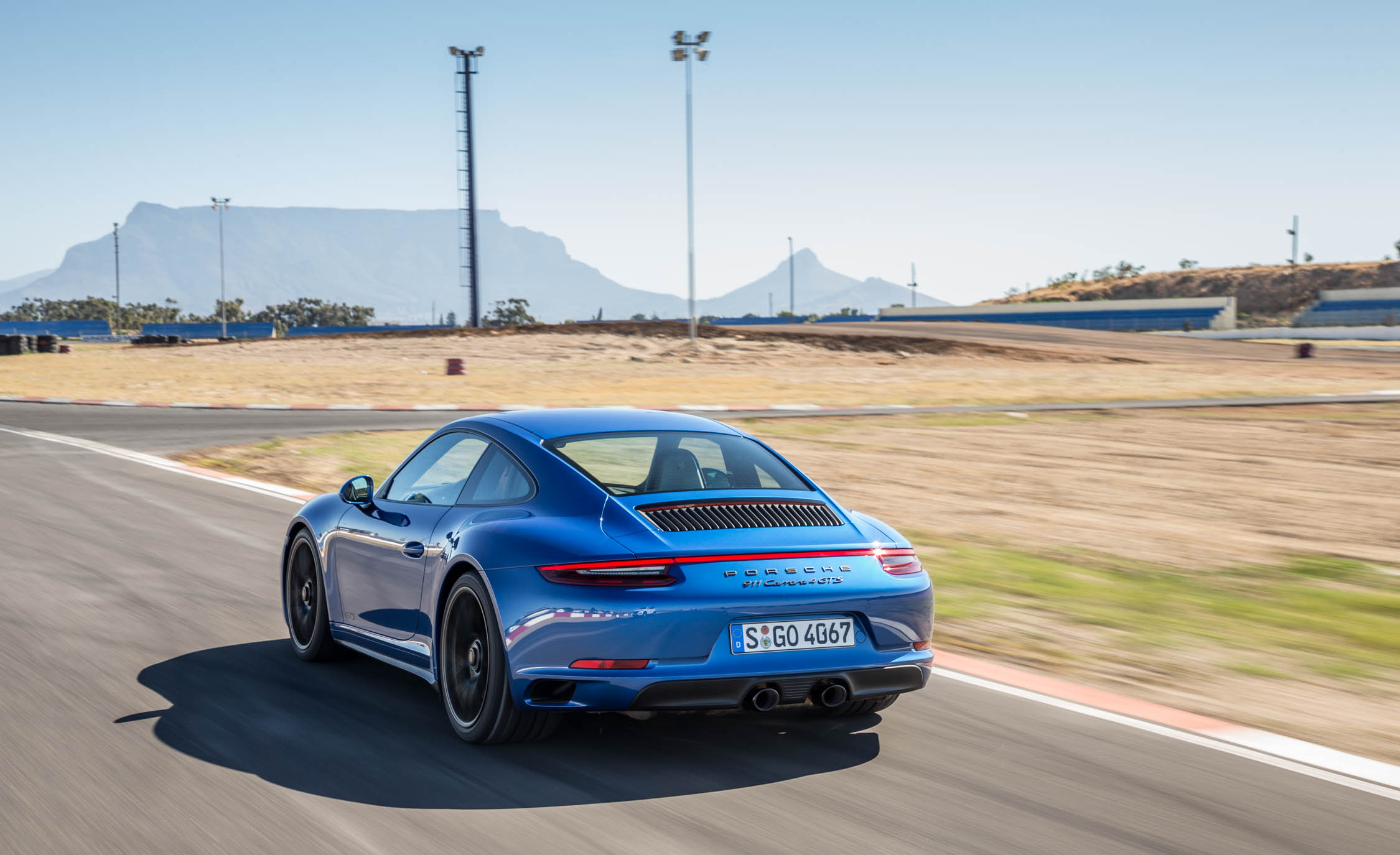 2017 Porsche 911 Carrera 4 GTS Coupe Test Drive Rear And Side View (Photo 27 of 97)