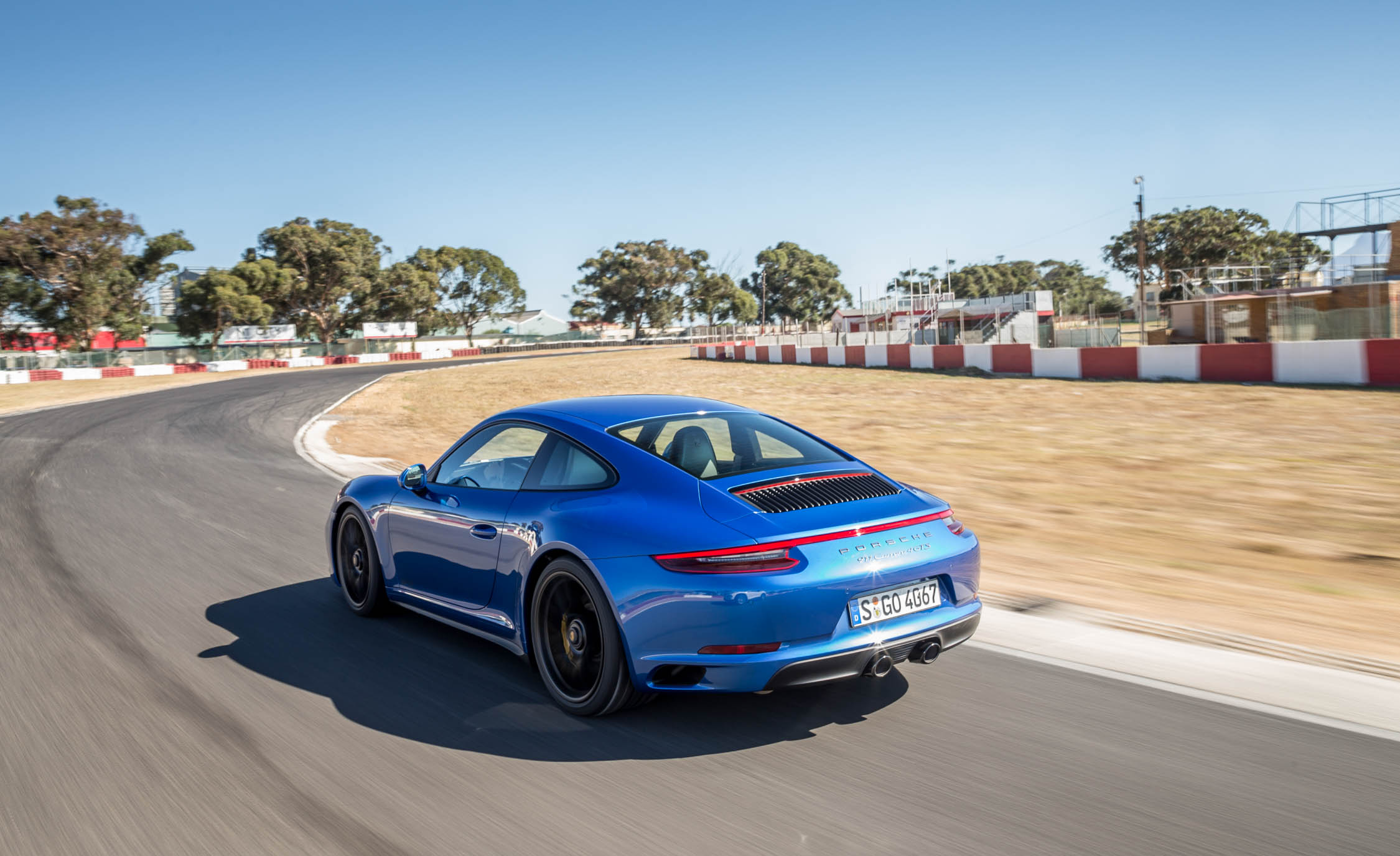 2017 Porsche 911 Carrera 4 GTS Coupe Test Drive Side And Rear View (Photo 29 of 97)