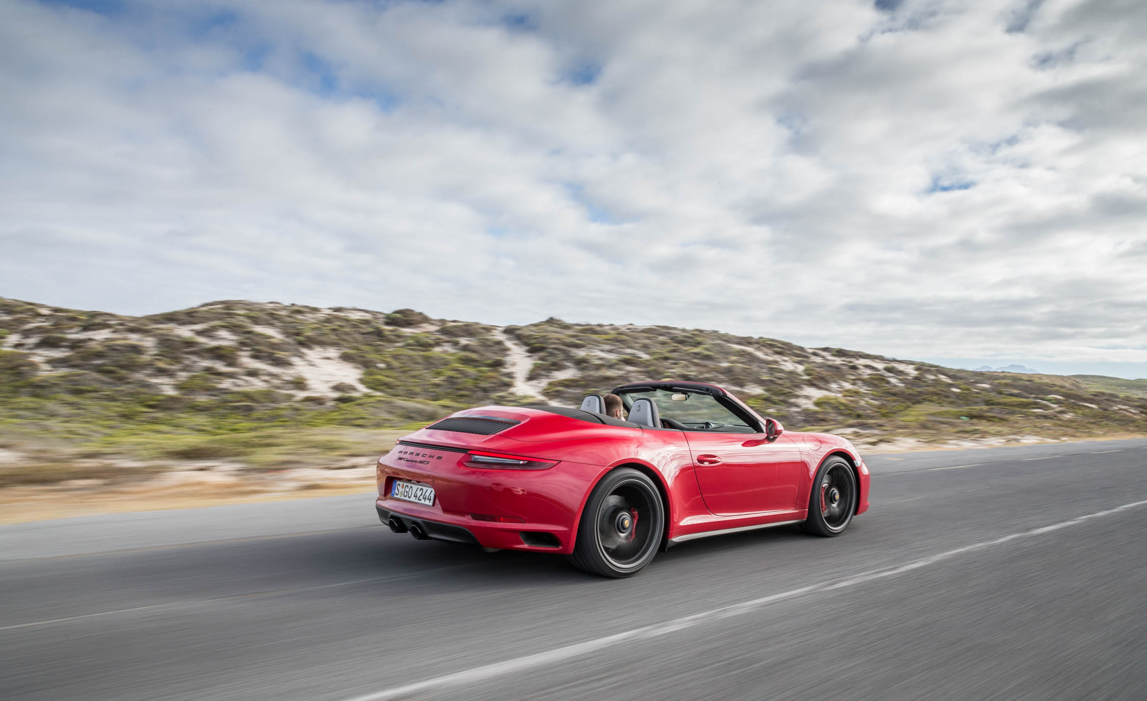 2017 Porsche 911 Carrera GTS Cabriolet Test Drive Side And Rear View (Photo 40 of 97)
