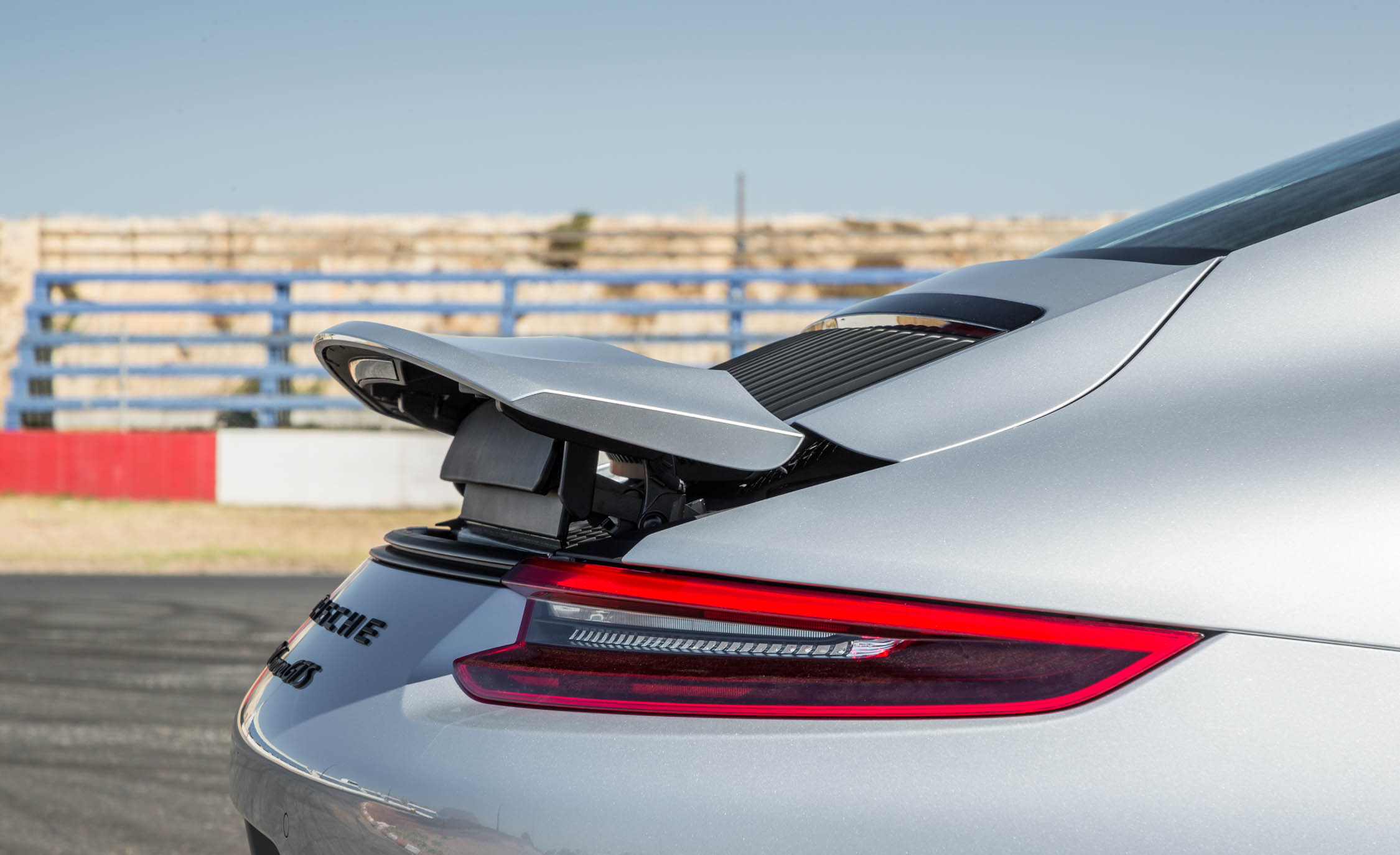 2017 Porsche 911 Carrera GTS Coupe Exterior View Rear Spoiler Wing (Photo 46 of 97)