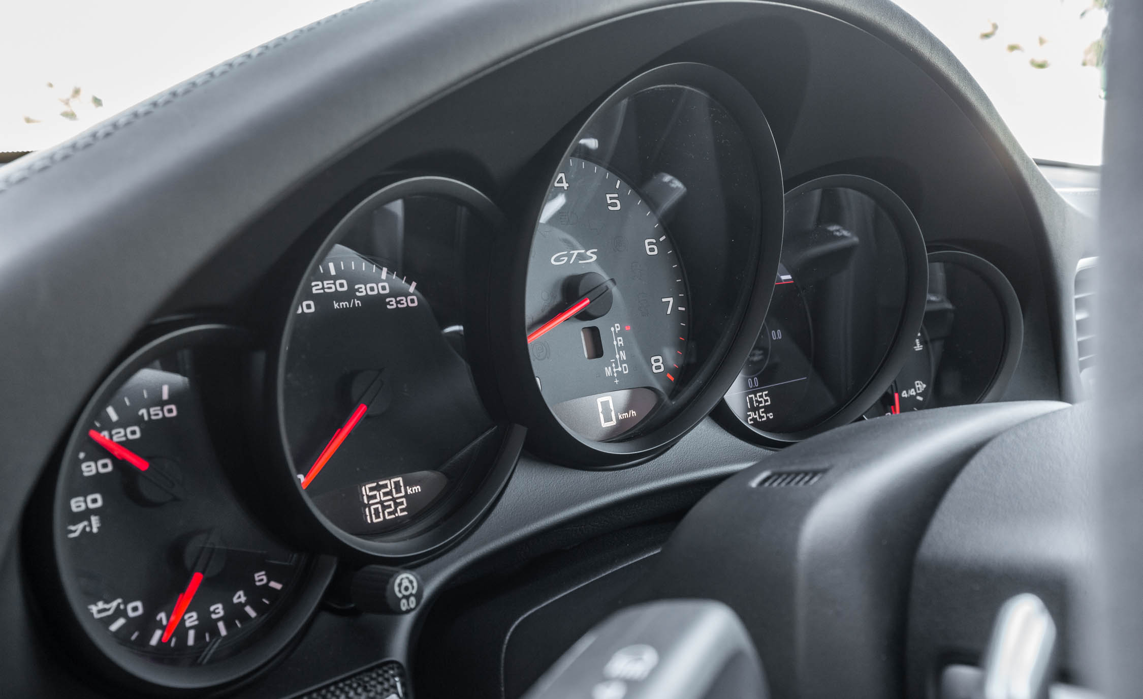 2017 Porsche 911 Carrera GTS Coupe Interior View Speedometer (Photo 53 of 97)
