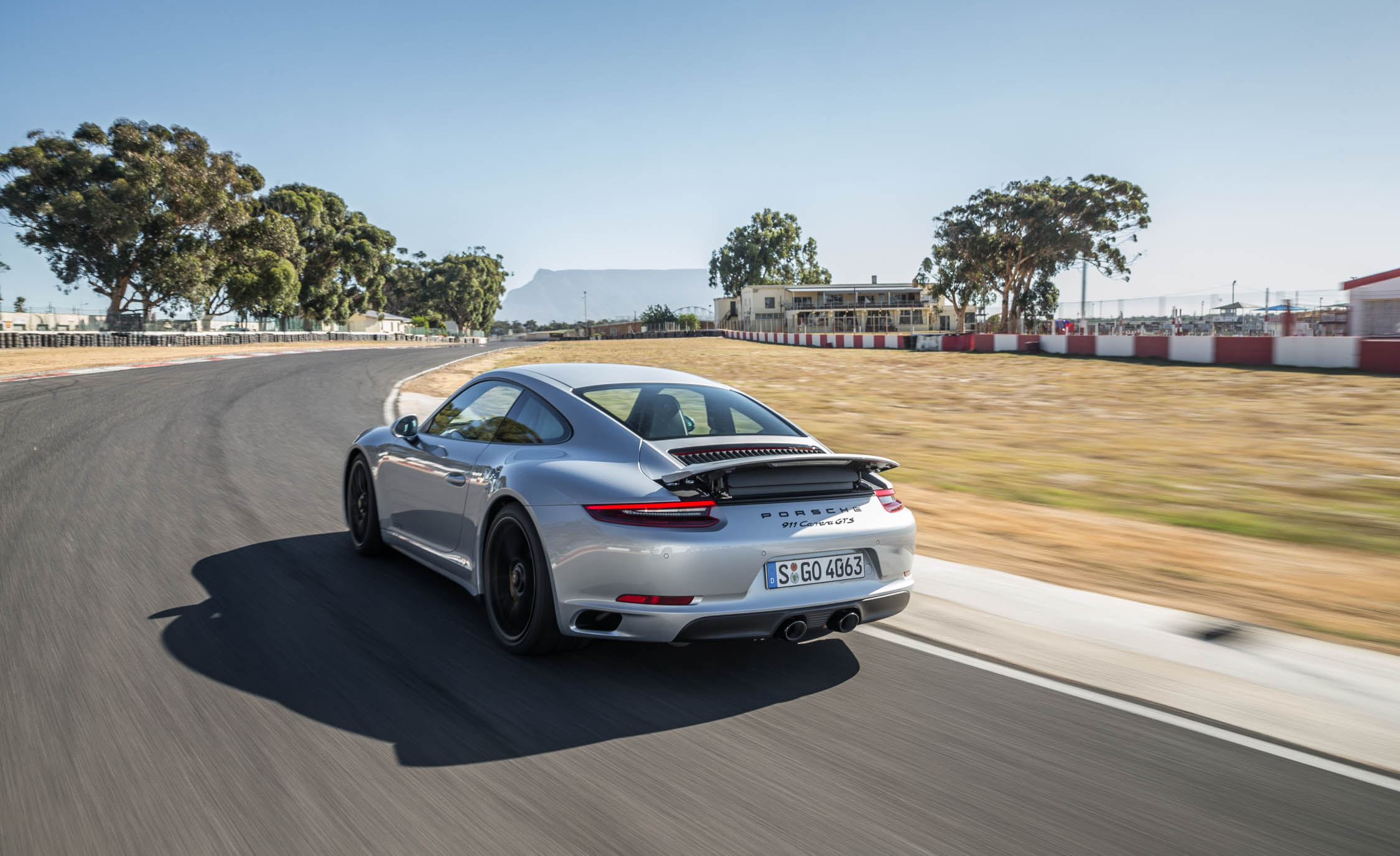 2017 Porsche 911 Carrera GTS Coupe Test Drive Rear And Side View (Photo 57 of 97)