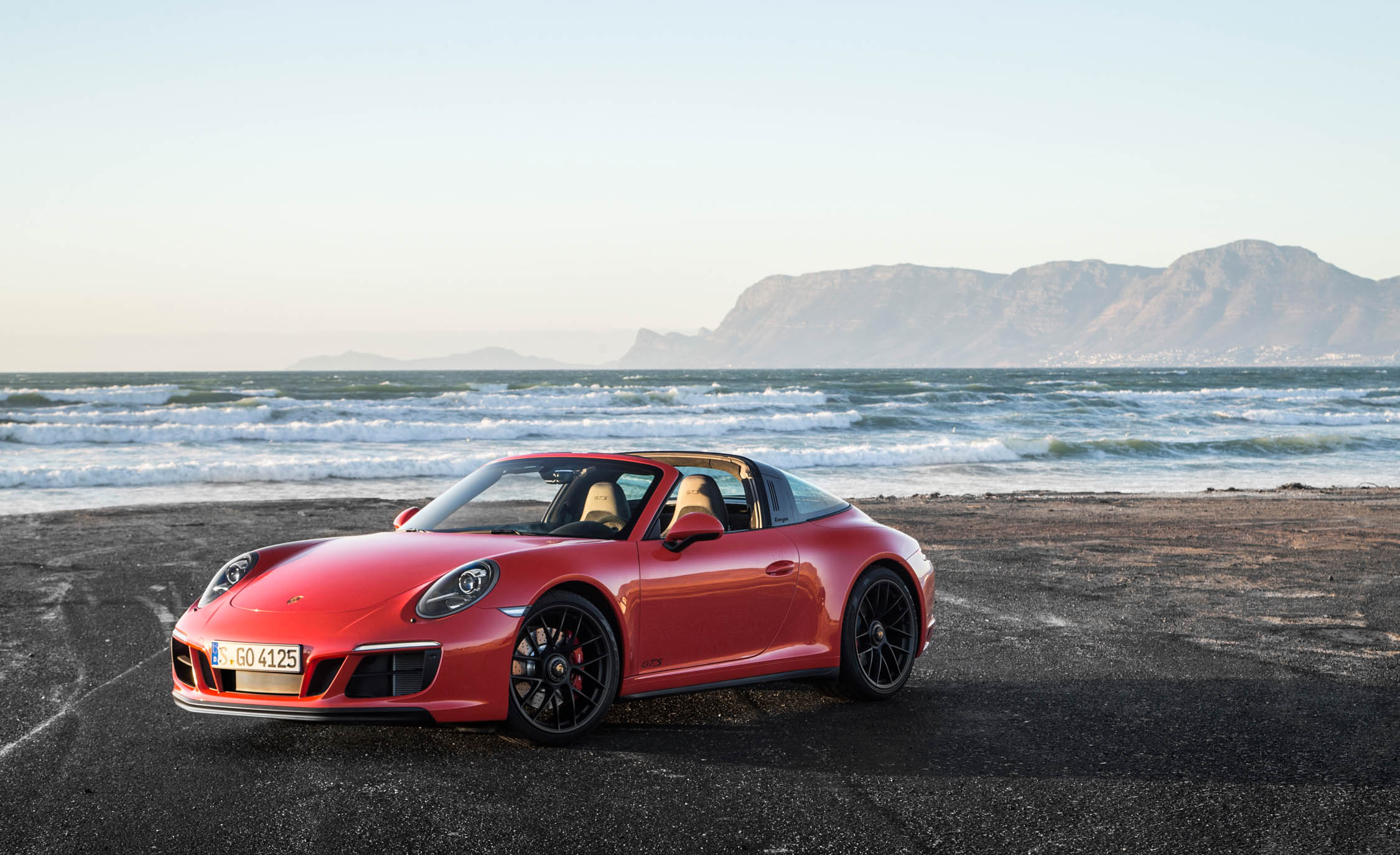 2017 Porsche 911 Targa 4 GTS Exterior Front And Side (Photo 60 of 97)