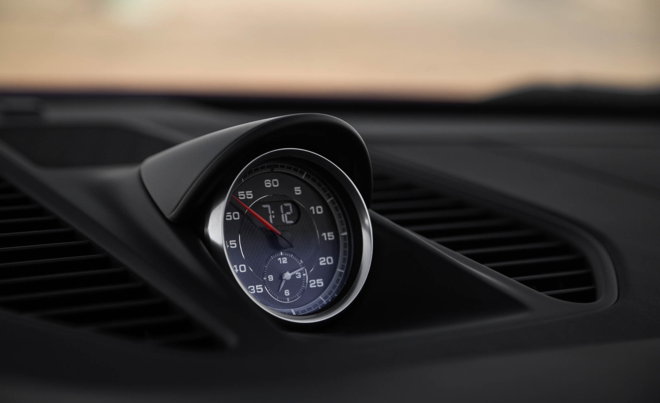 2017 Porsche 911 Targa 4 GTS Interior View Dash Clock (Photo 73 of 97)