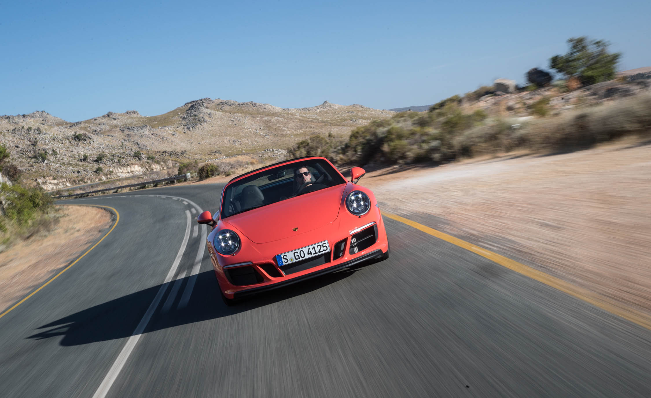 2017 Porsche 911 Targa 4 GTS Test Drive Front View (Photo 93 of 97)