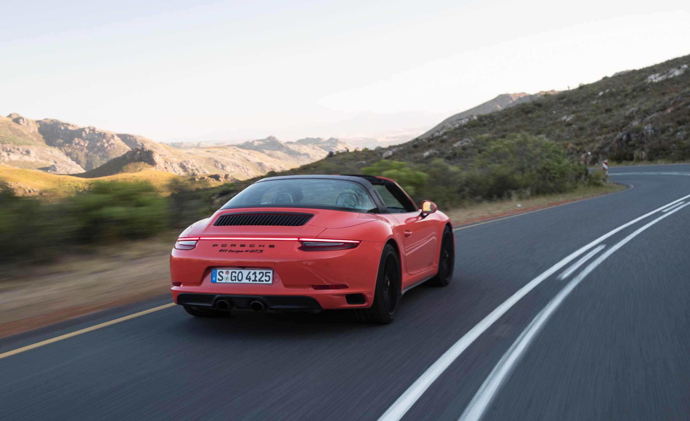 2017 Porsche 911 Targa 4 GTS Test Drive Rear Corner (Photo 94 of 97)
