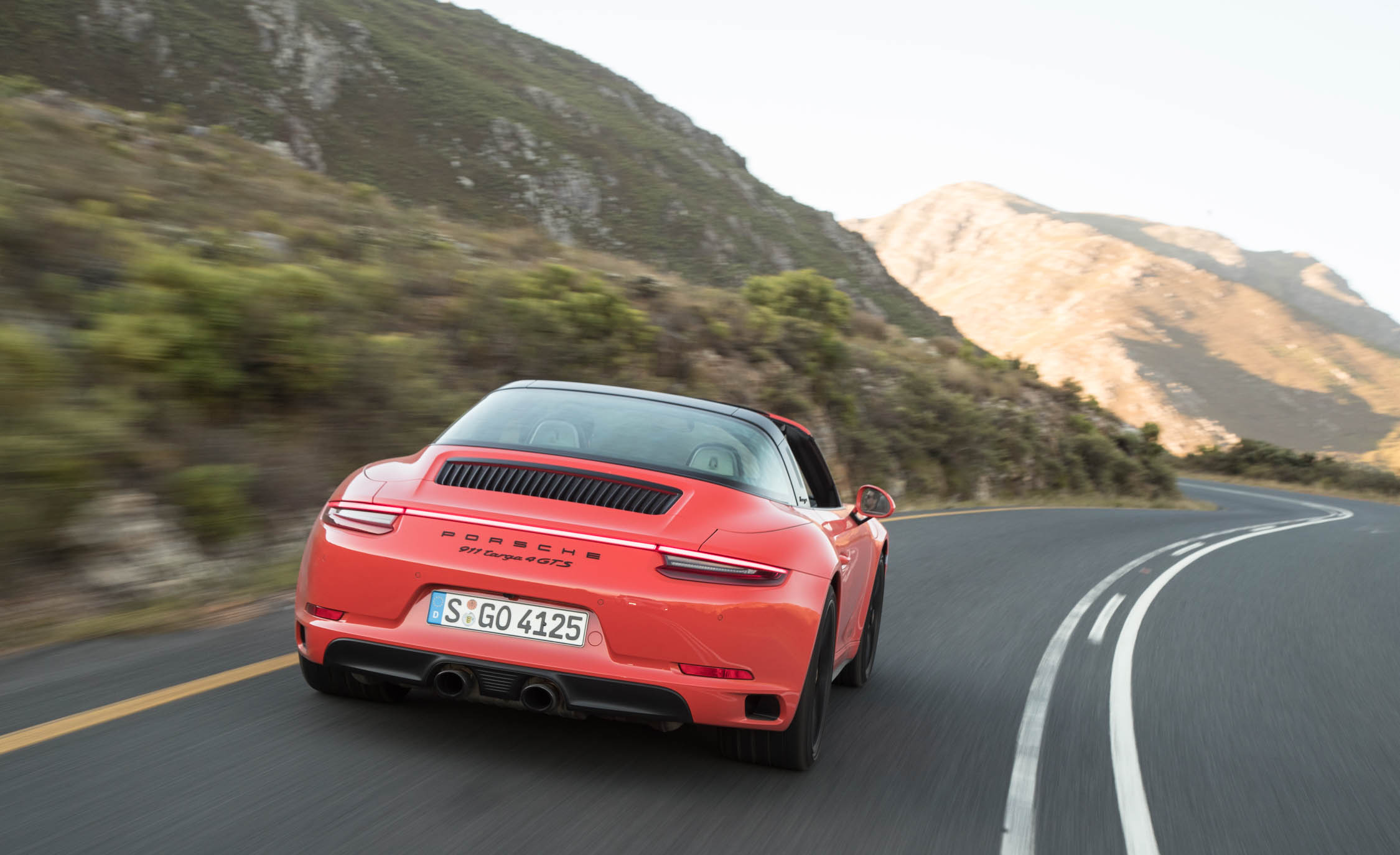 2017 Porsche 911 Targa 4 GTS Test Drive Rear View (Photo 95 of 97)