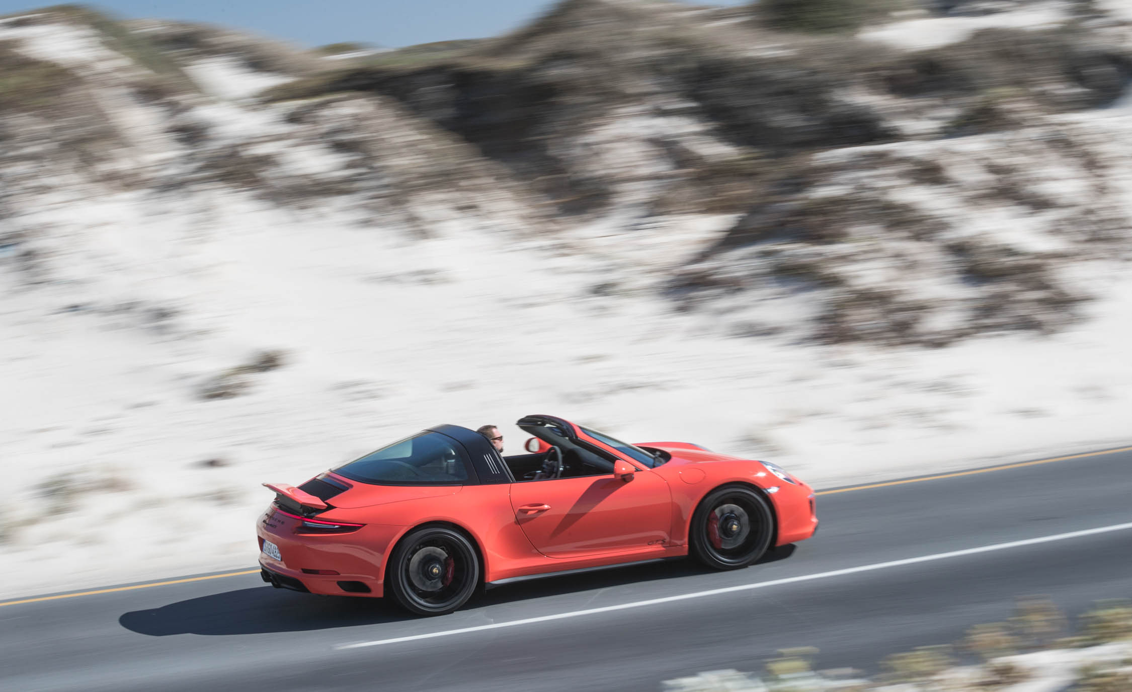2017 Porsche 911 Targa 4 GTS Test Drive Side And Rear View (Photo 96 of 97)