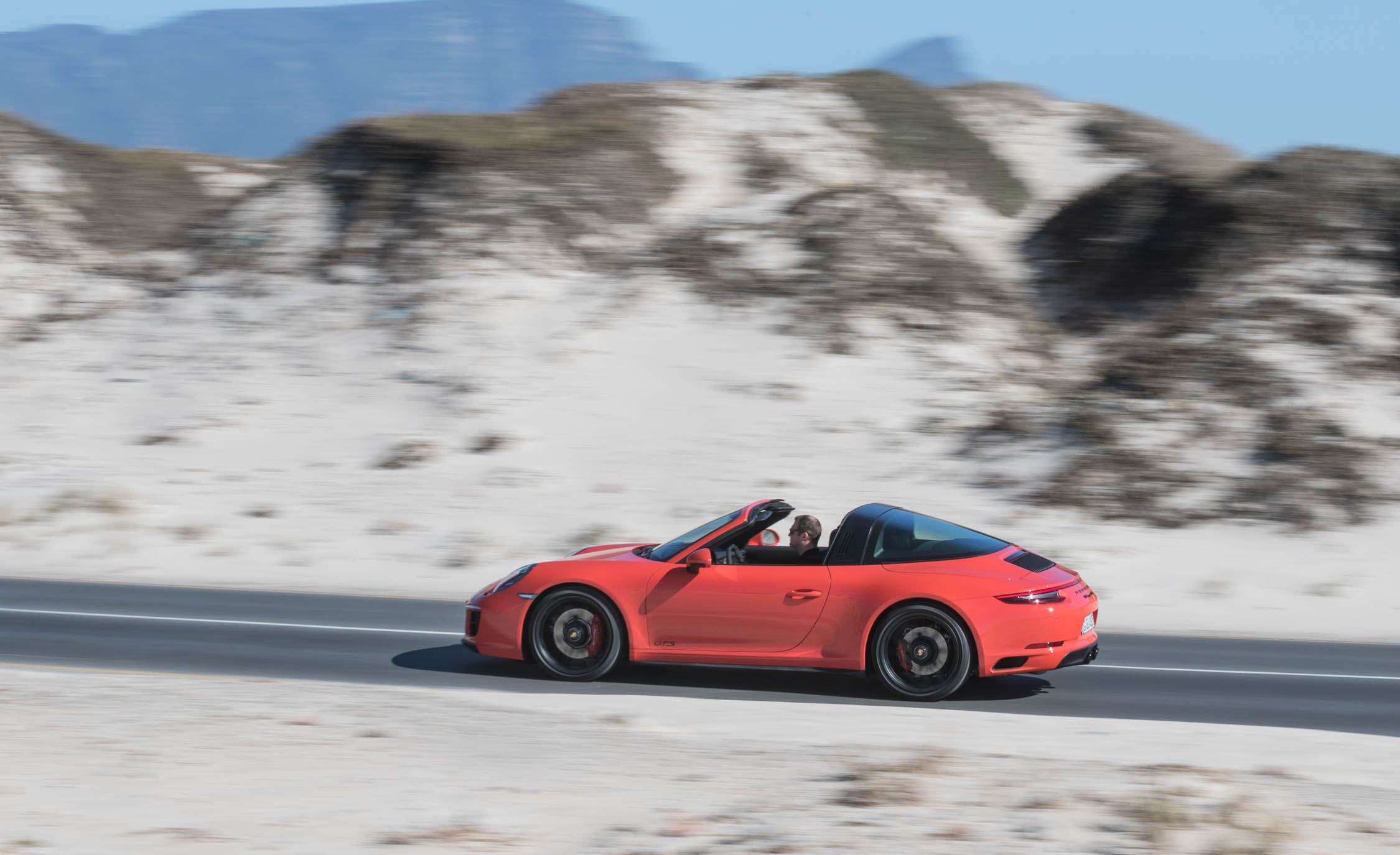 2017 Porsche 911 Targa 4 GTS Test Drive Side View (Photo 97 of 97)