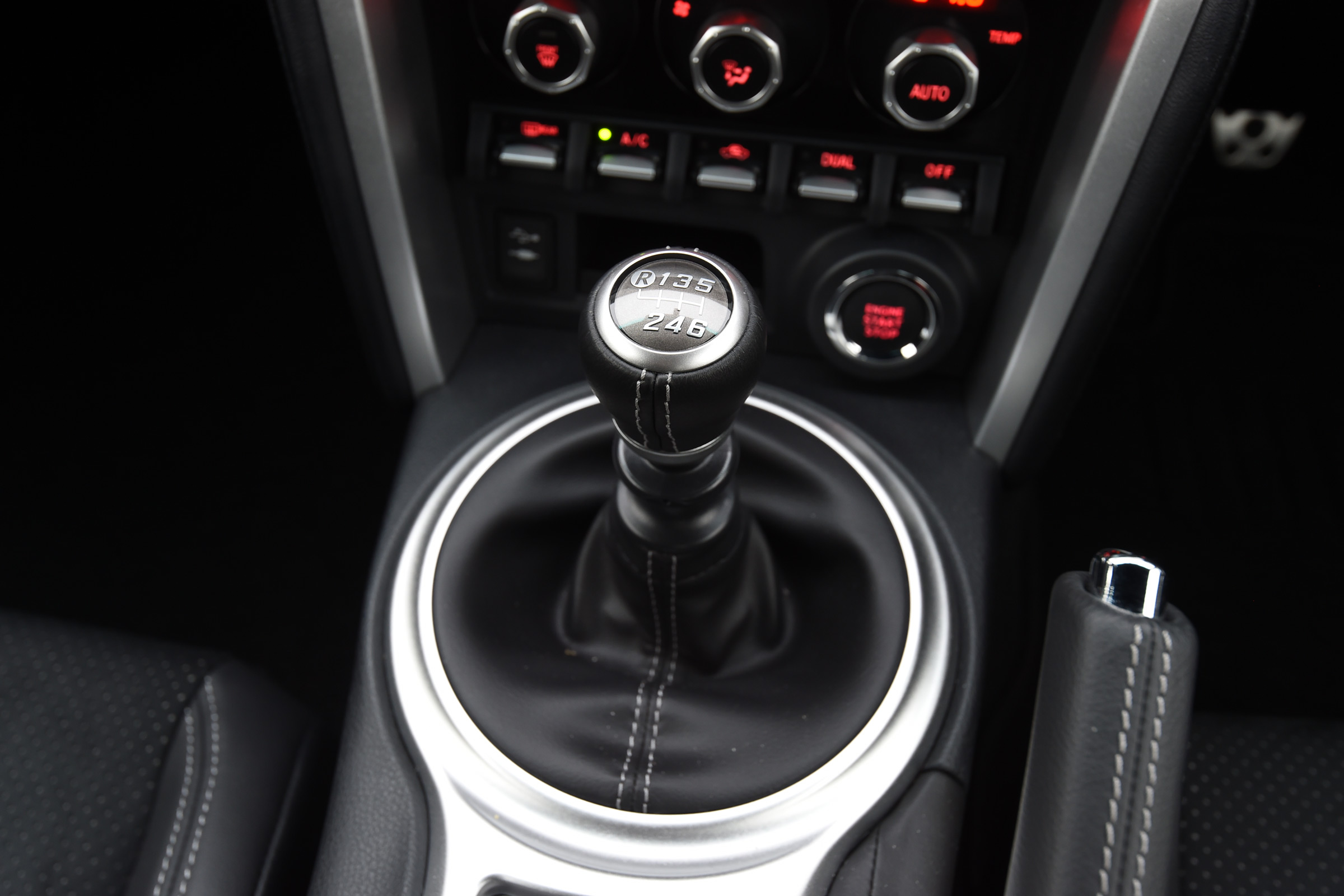 2017 Toyota GT86 Interior View Gear Shift Knob (View 5 of 13)