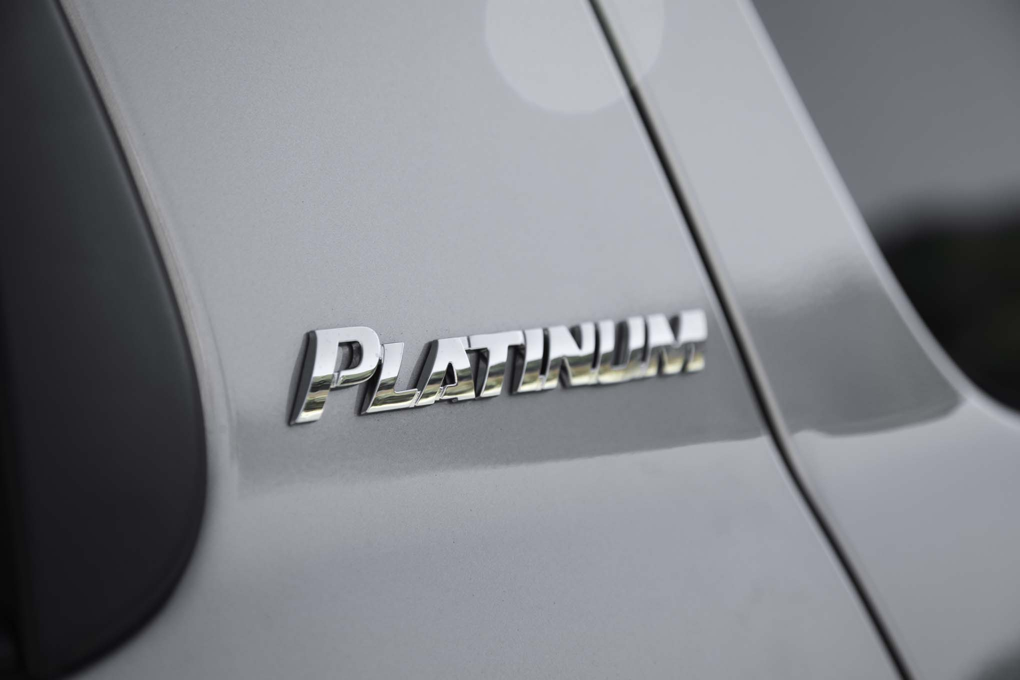 2017 Toyota Sequoia 4×4 Platinum Exterior View Rear Emblem (Photo 12 of 26)