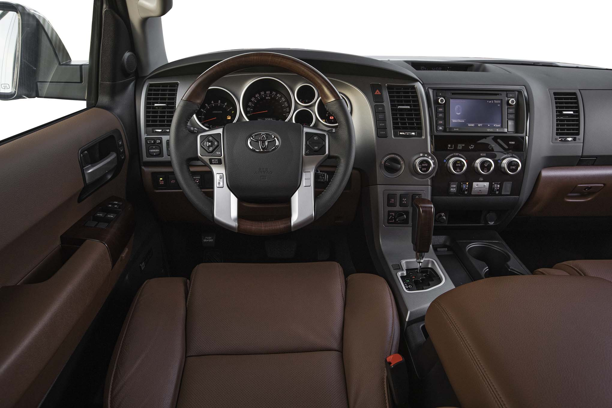 2017 Toyota Sequoia 4×4 Platinum Interior Driver Cockpit And Dash (Photo 12 of 26)