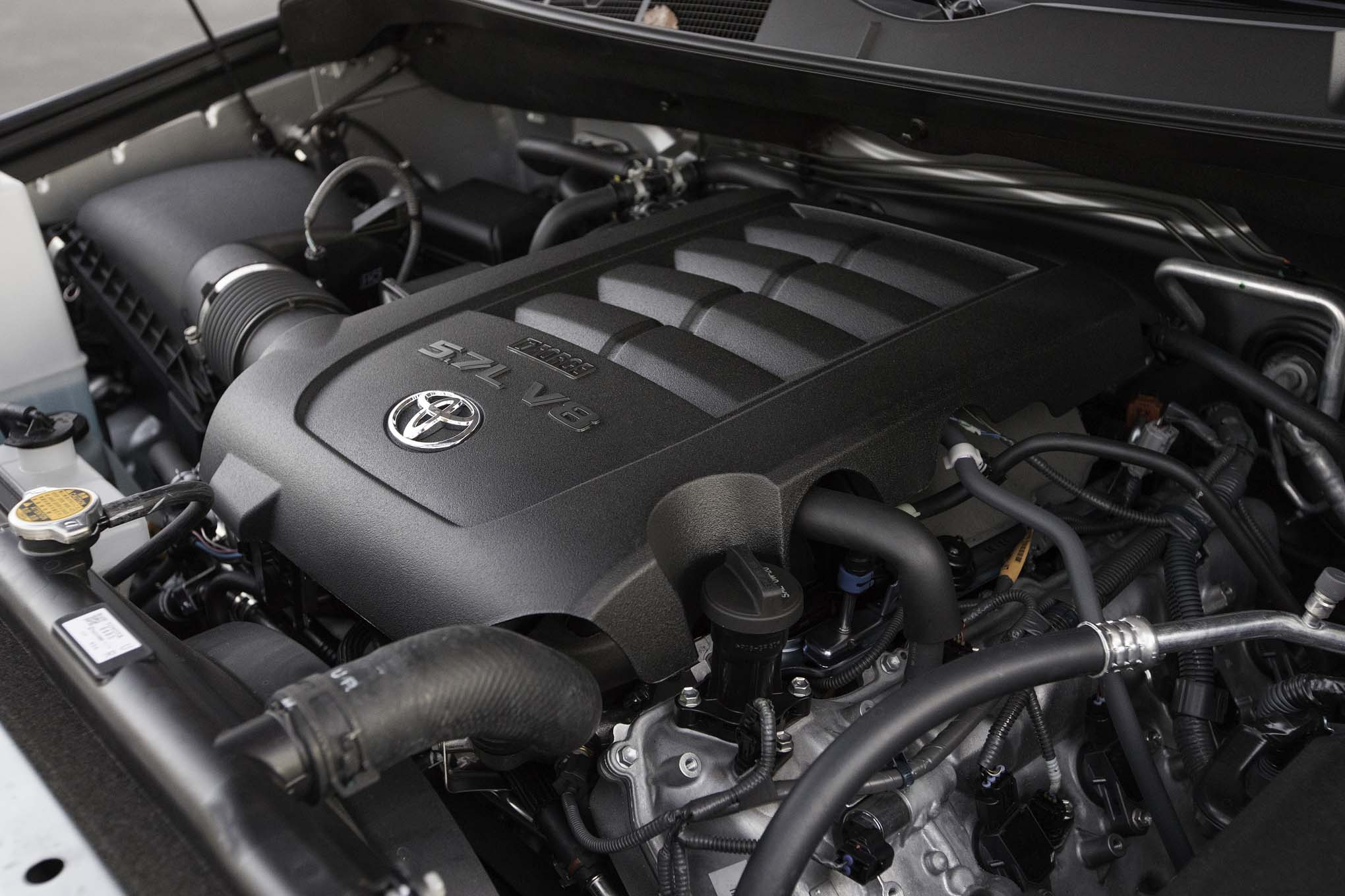 2017 Toyota Sequoia 4×4 Platinum View Engine (Photo 26 of 26)