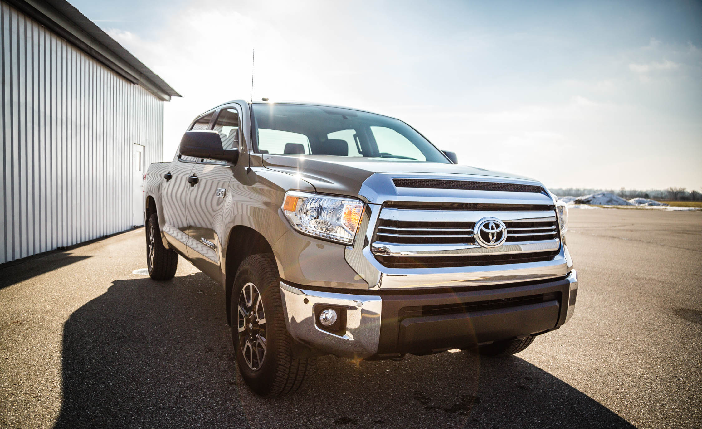 2017 Toyota Tundra Exterior Front And Side (View 23 of 24)