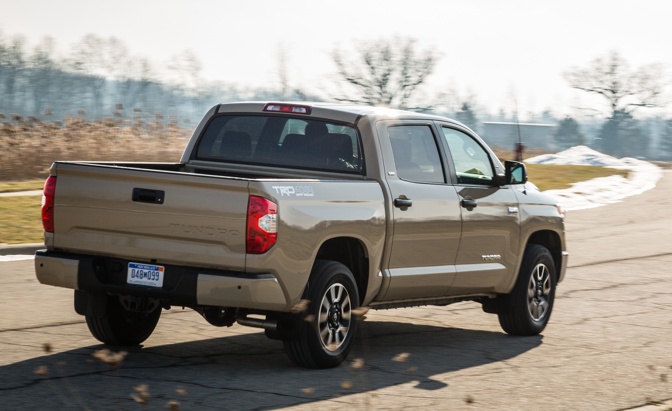 2017 Toyota Tundra Test Drive Rear And Side View (View 6 of 24)