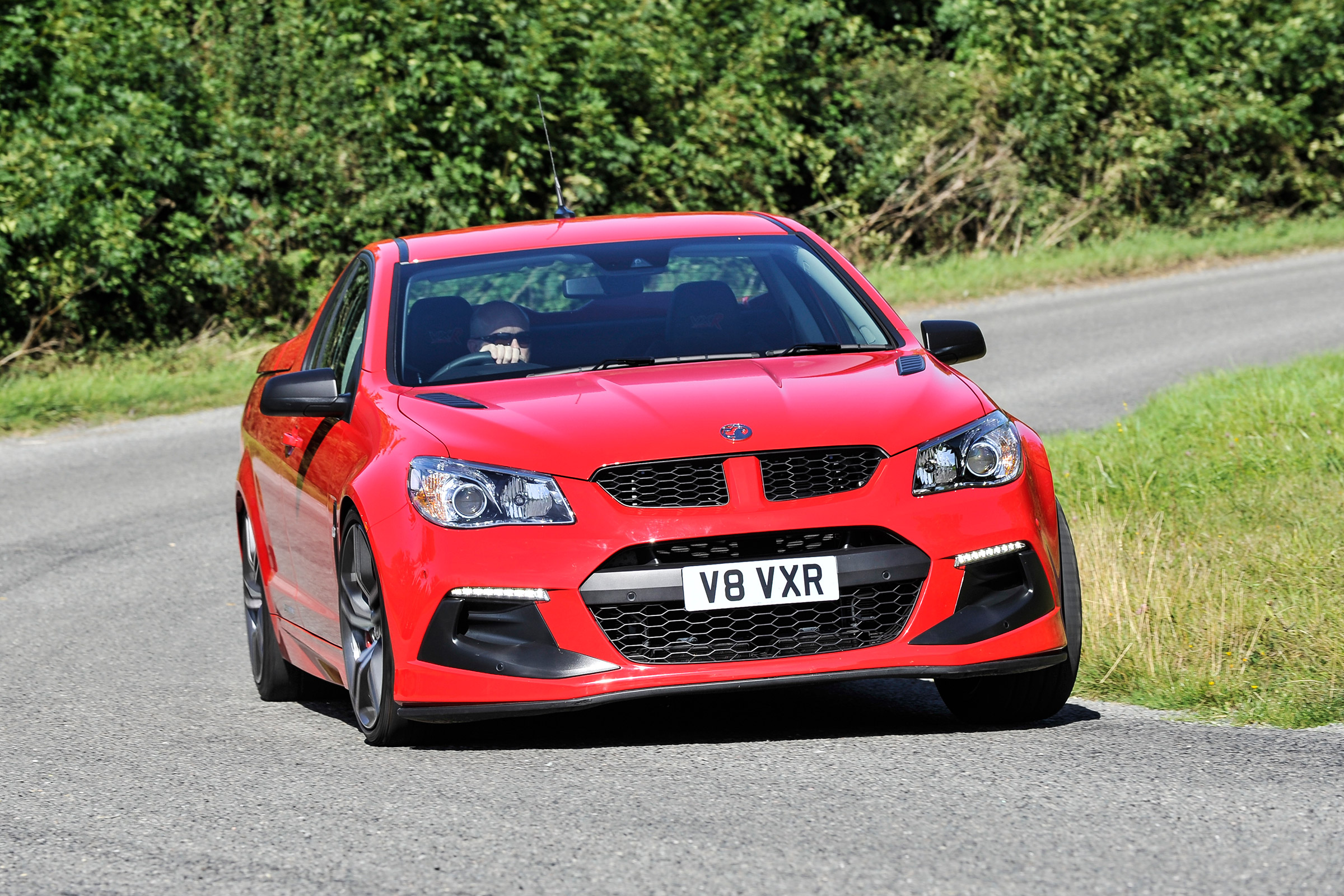 2017 Vauxhall VXR8 Maloo Test Drive Front View (Photo 23 of 26)