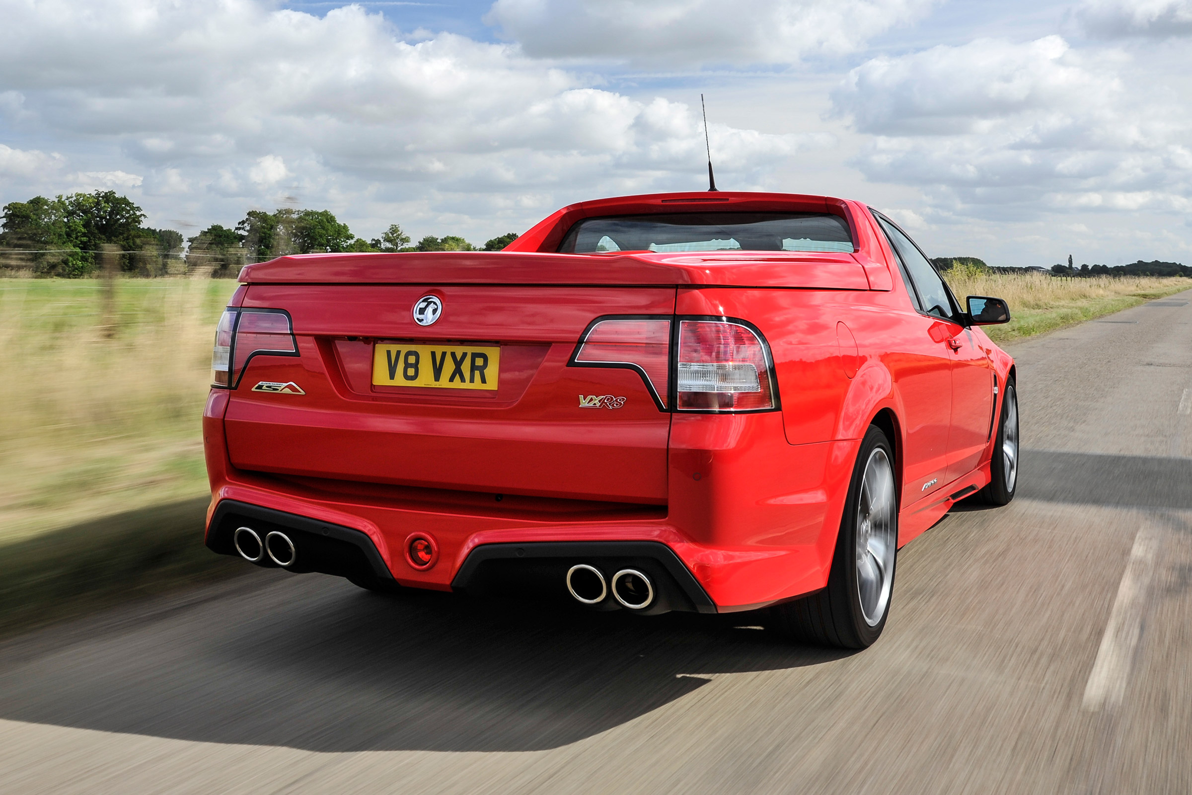 2017 Vauxhall VXR8 Maloo Test Drive Rear View (Photo 24 of 26)