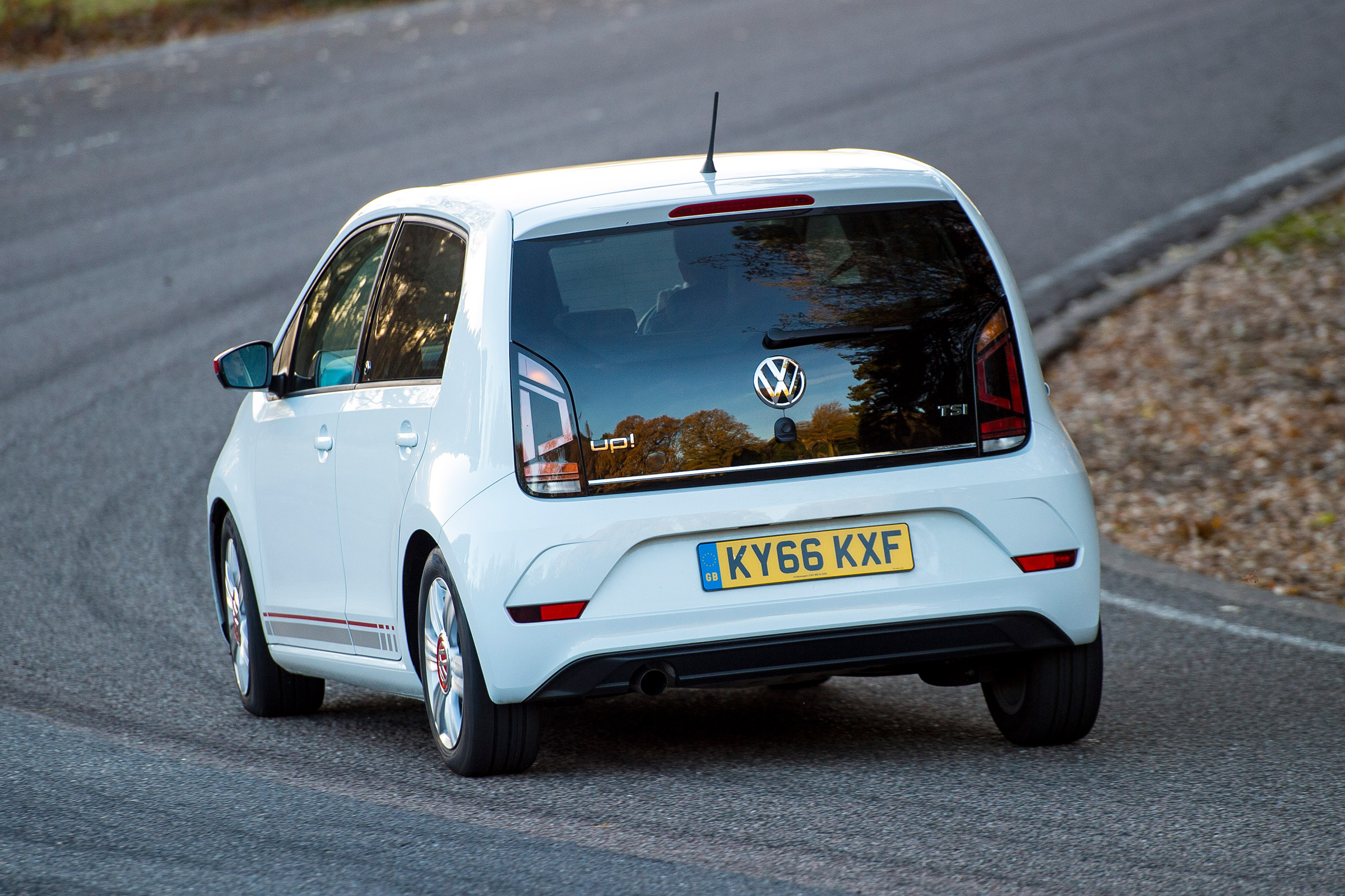 2017 Volkswagen Up Test Drive Rear View (Photo 15 of 15)