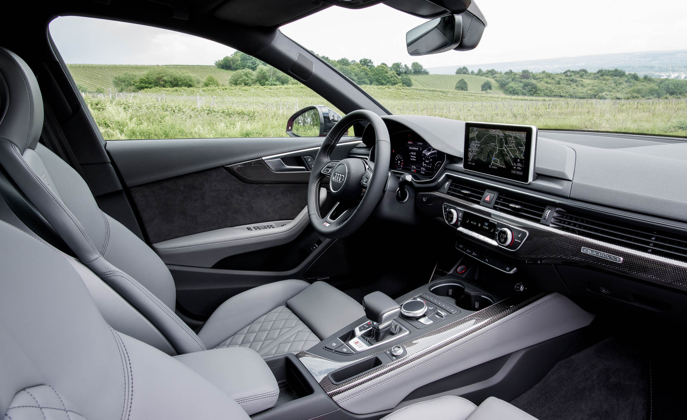 2018 Audi S4 Interior Driver Cockpit Steering And Dash (Photo 6 of 17)