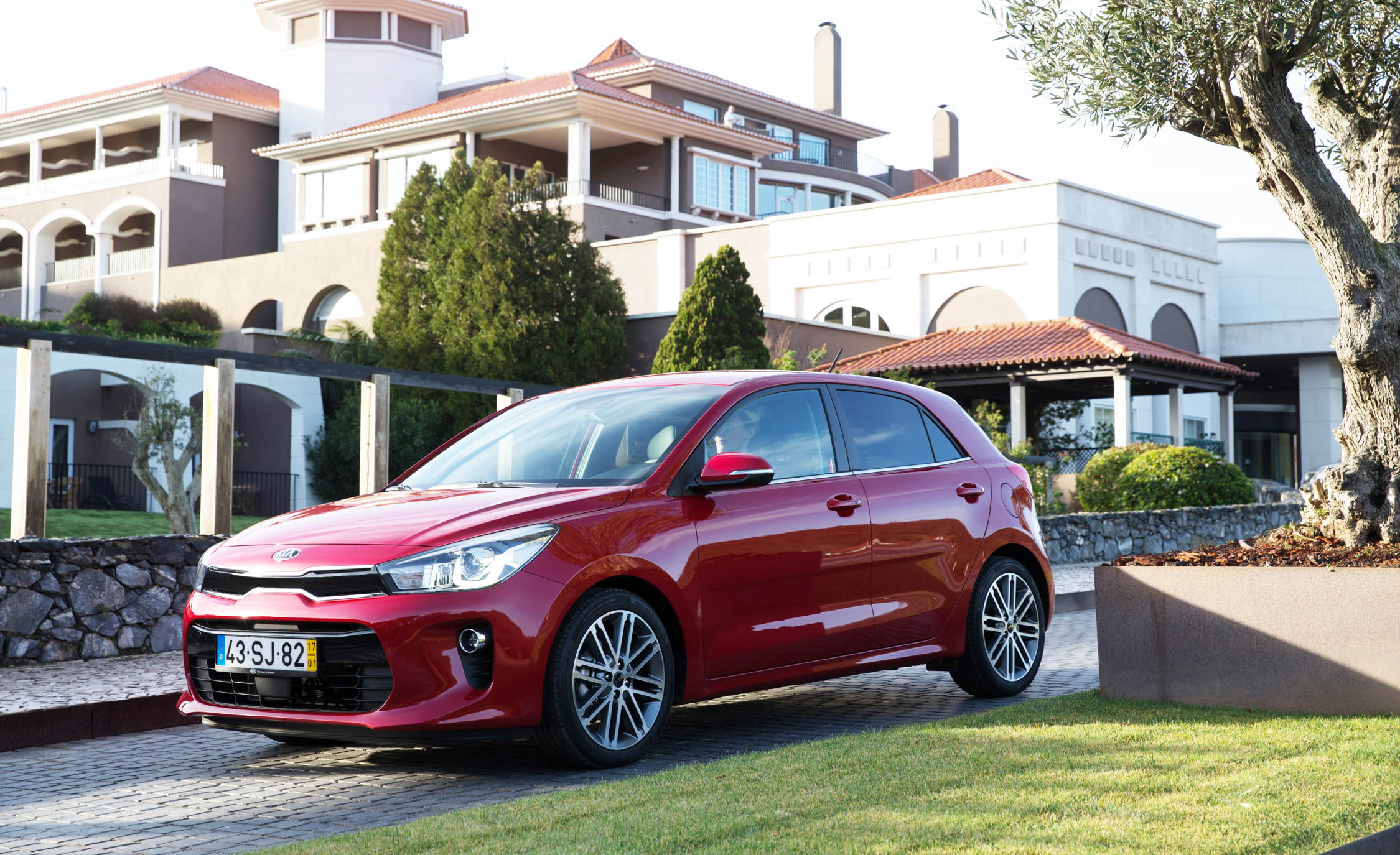 2018 Kia Rio Hatchback Red Exterior (View 11 of 49)
