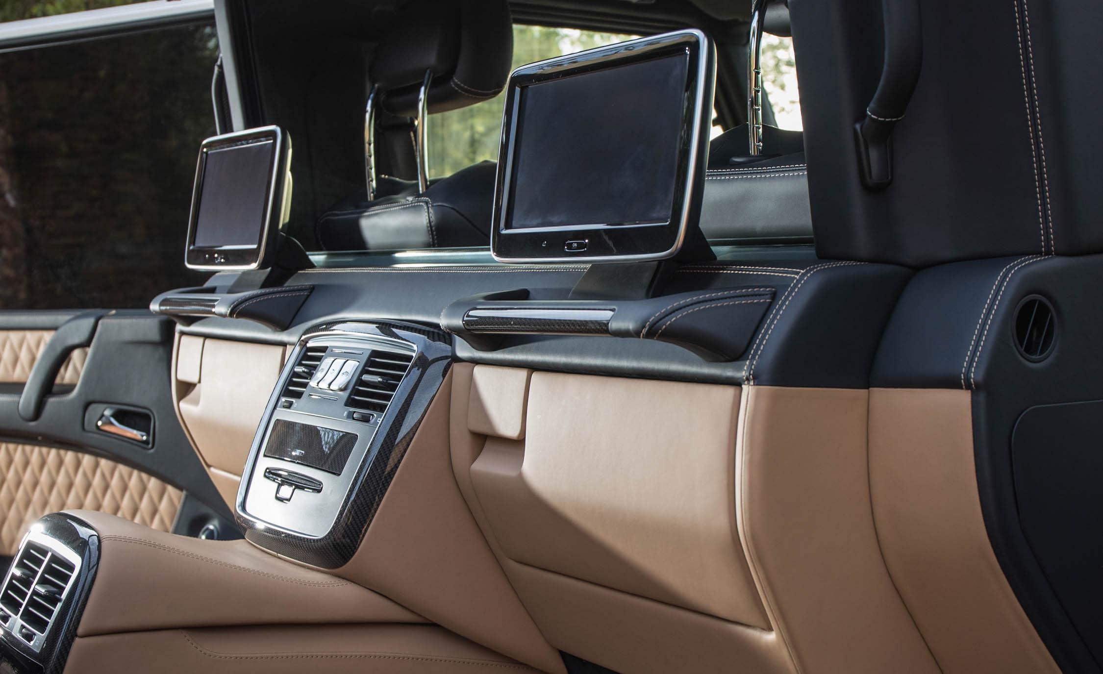 2018 Mercedes Maybach G650 Landaulet Interior Rear Headunit Screen (Photo 32 of 52)