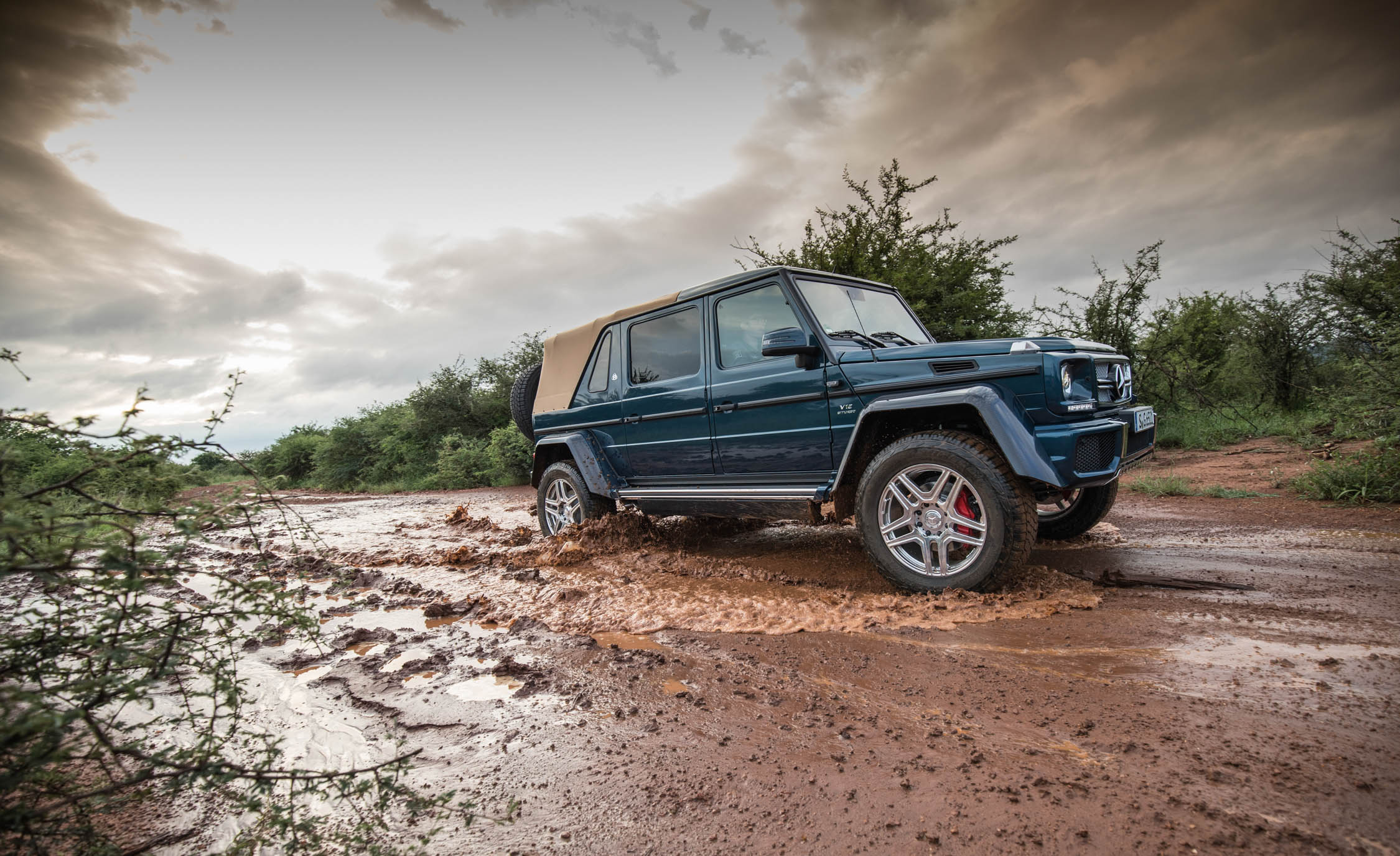 2018 Mercedes Maybach G650 Landaulet Off Road Test Side And Front View (Photo 23 of 52)