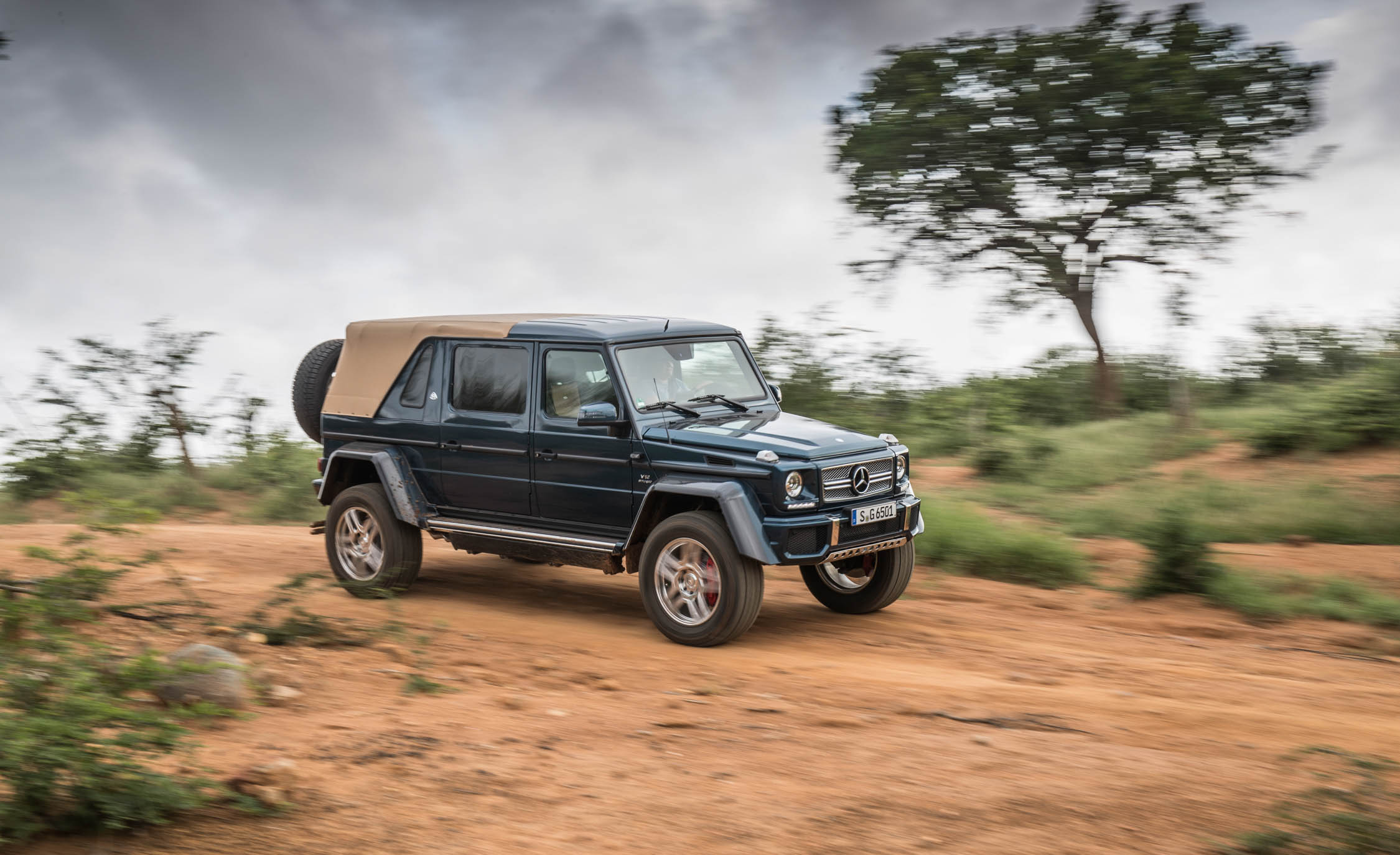 2018 Mercedes Maybach G650 Landaulet Test Drive Side View (Photo 11 of 52)