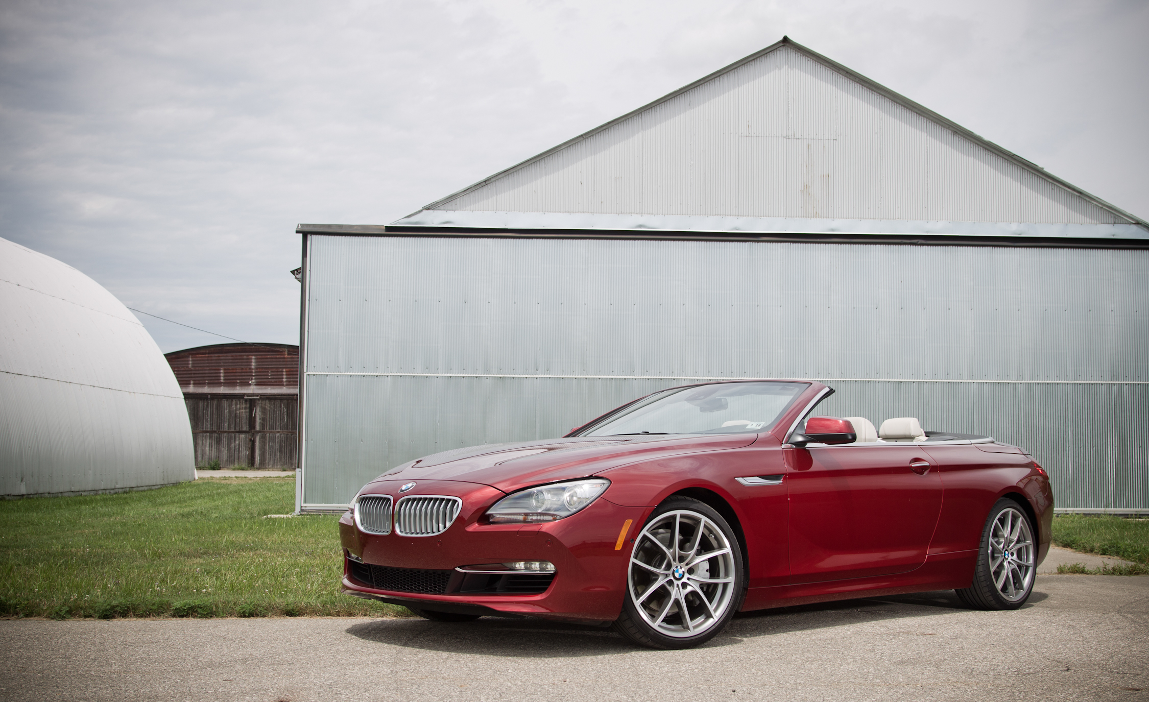 2012 BMW 650i Convertible Exterior Front And Side (Photo 3 of 19)