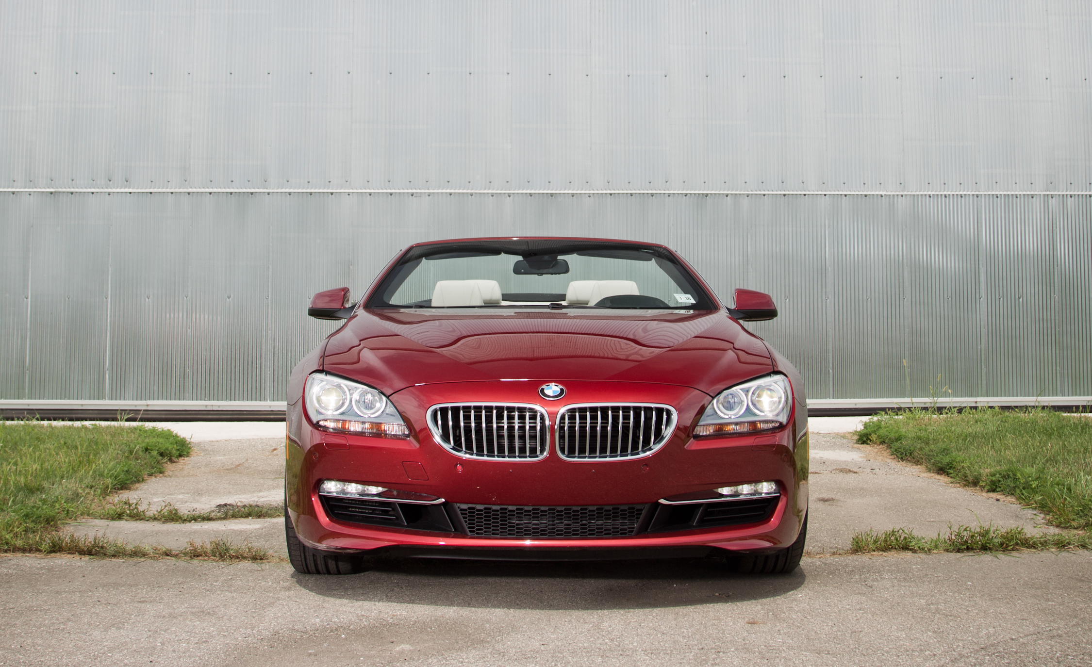 2012 BMW 650i Convertible Exterior Front (Photo 2 of 19)