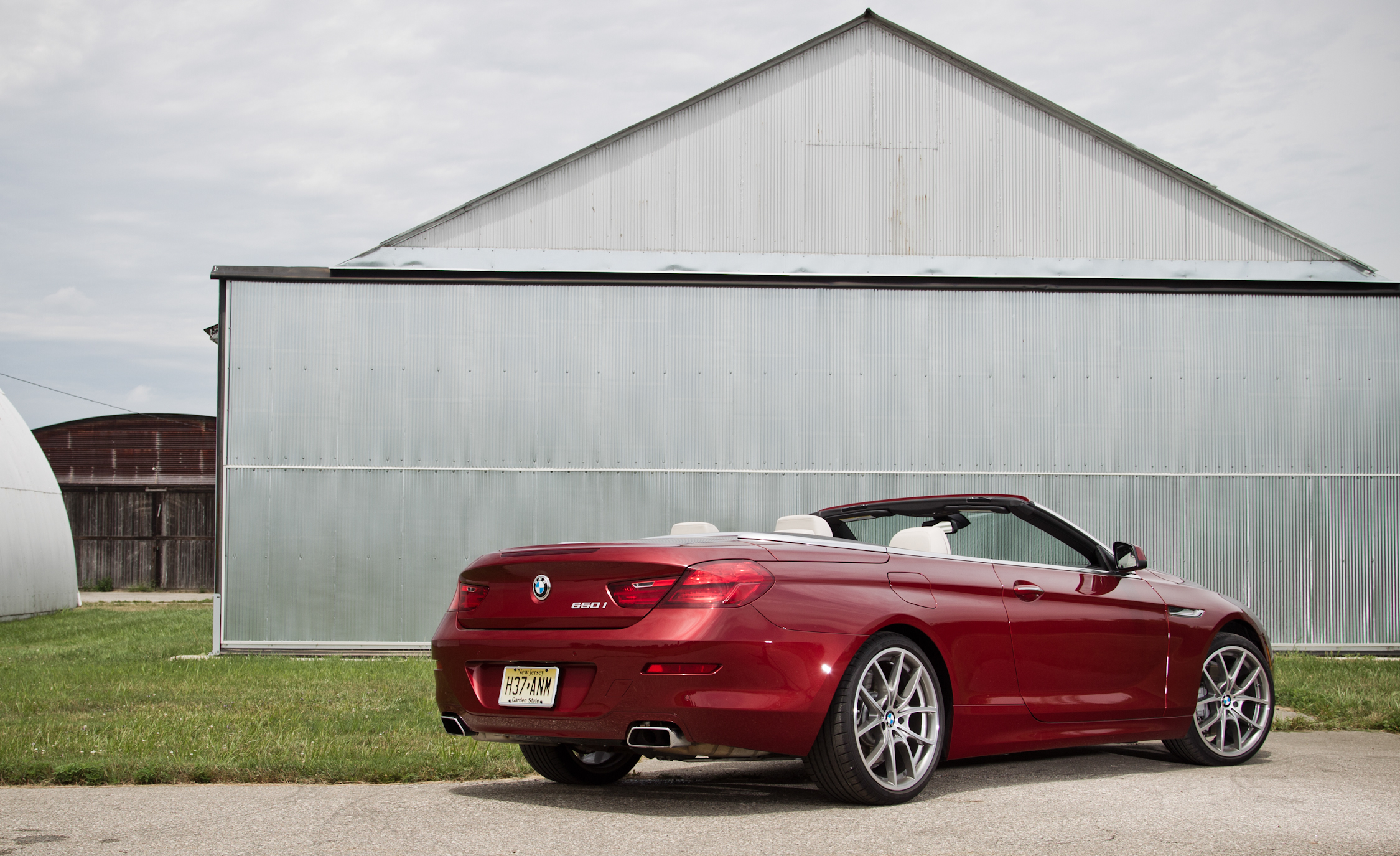 2012 BMW 650i Convertible Exterior Rear And Side (Photo 5 of 19)