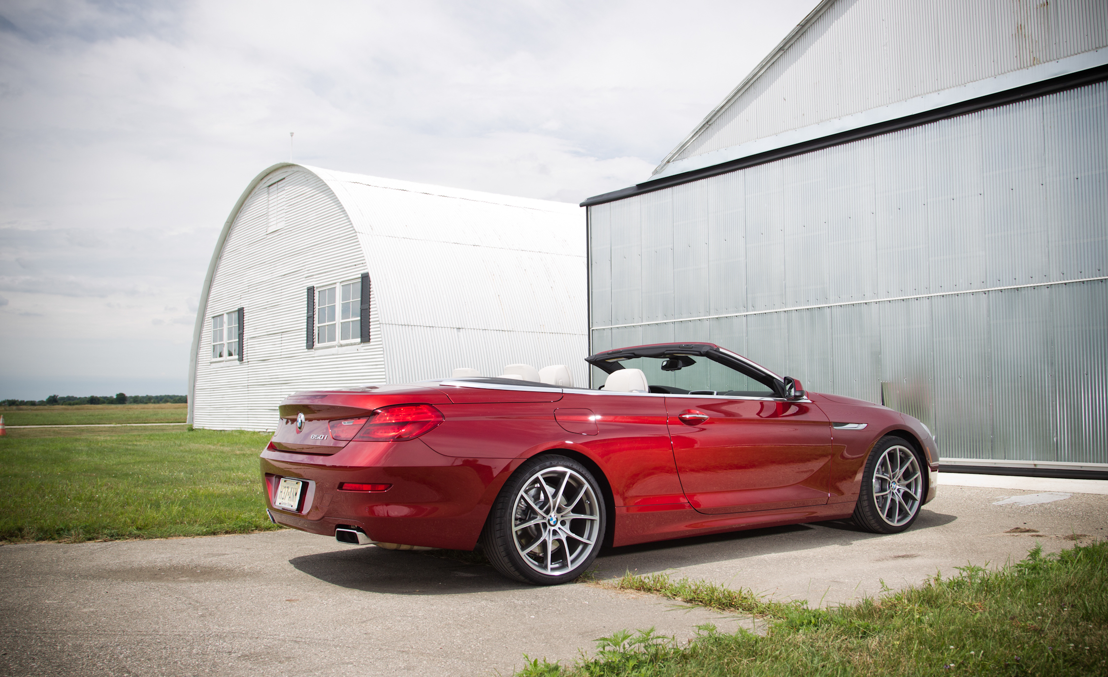 2012 BMW 650i Convertible Exterior Side And Rear (Photo 6 of 19)