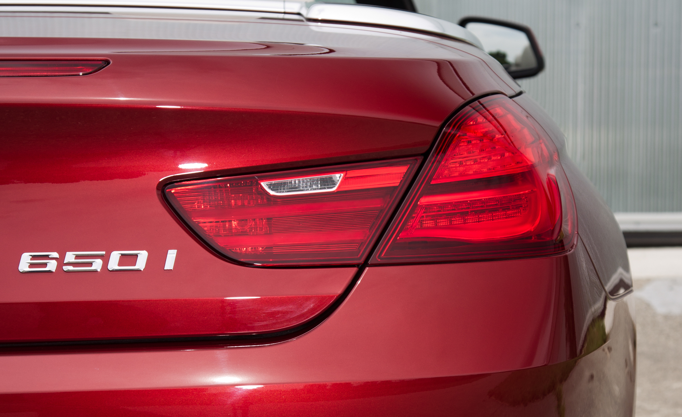 2012 BMW 650i Convertible Exterior View Taillight (Photo 9 of 19)