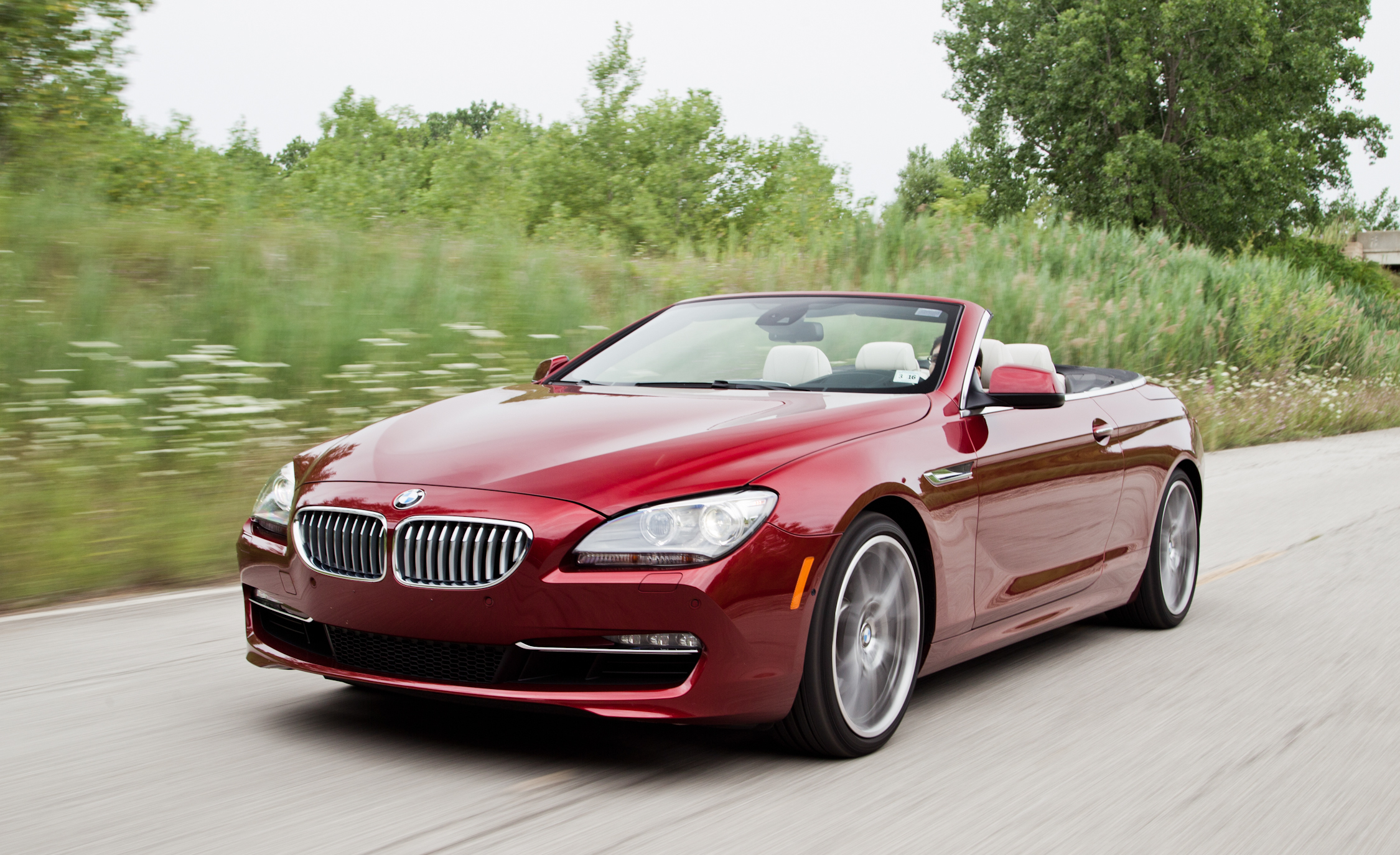 2012 BMW 650i Convertible Red Metallic (Photo 15 of 19)