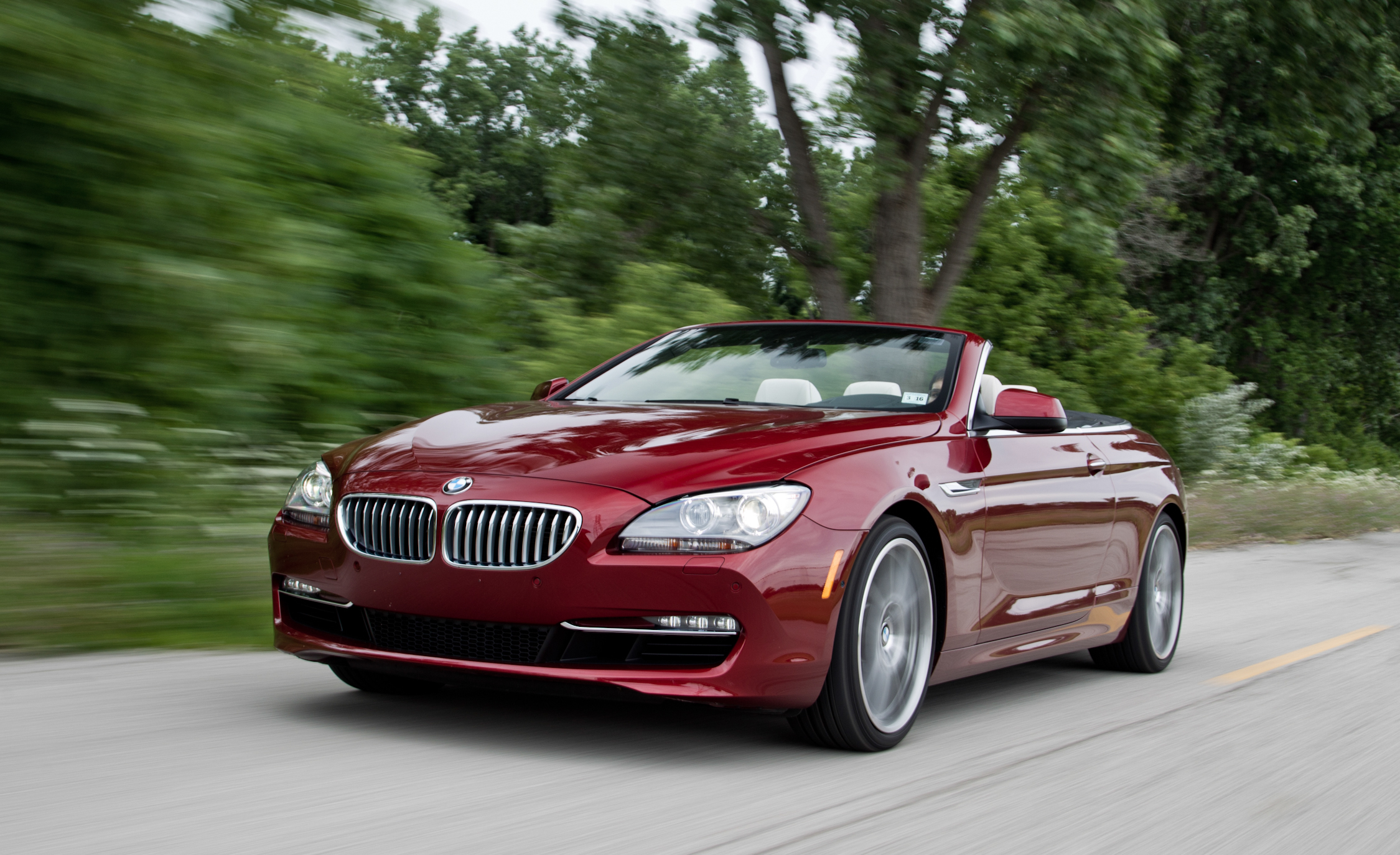 2012 BMW 650i Convertible Test Drive Front And Side View (Photo 16 of 19)