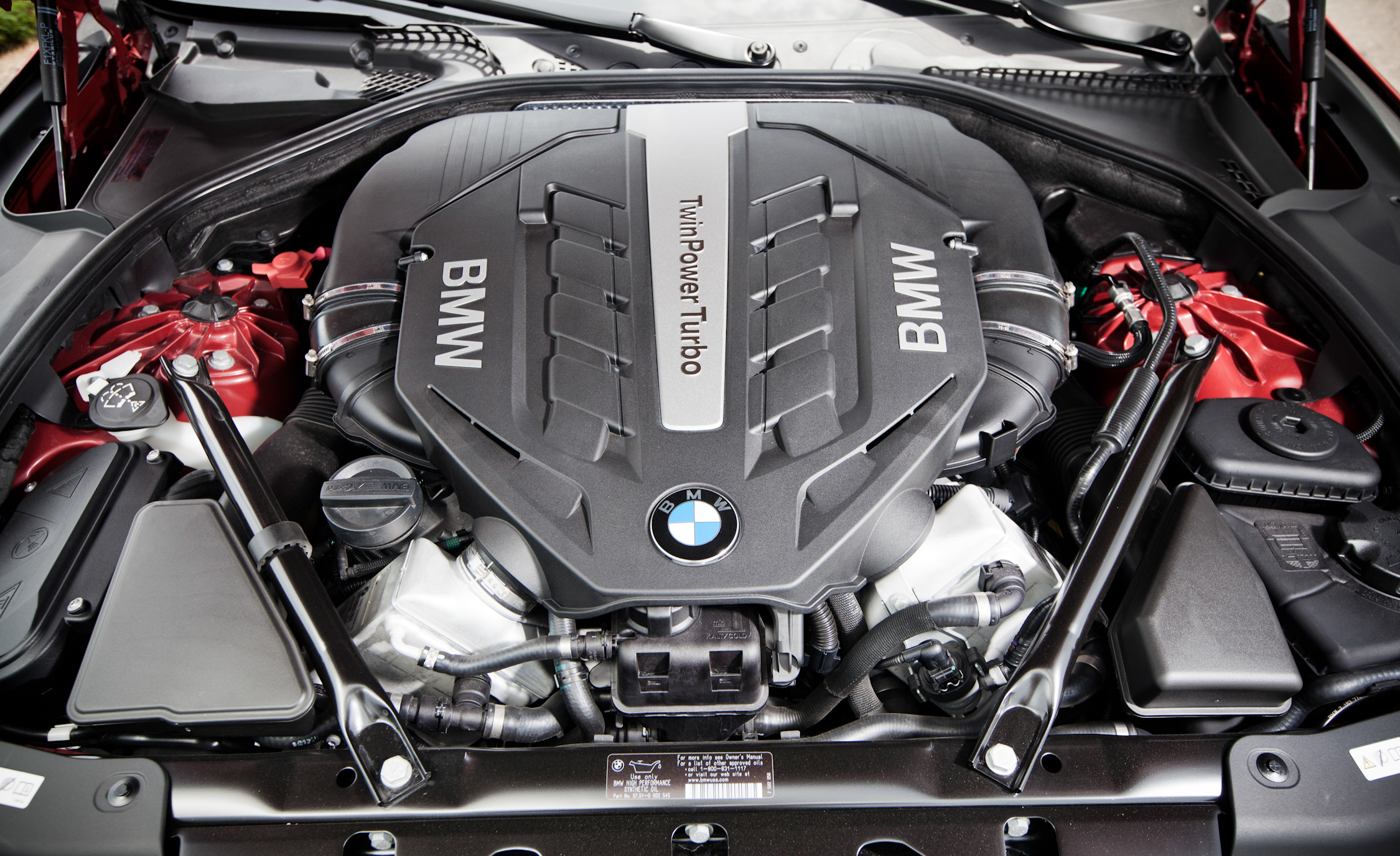 2012 BMW 650i Convertible View Engine (Photo 19 of 19)
