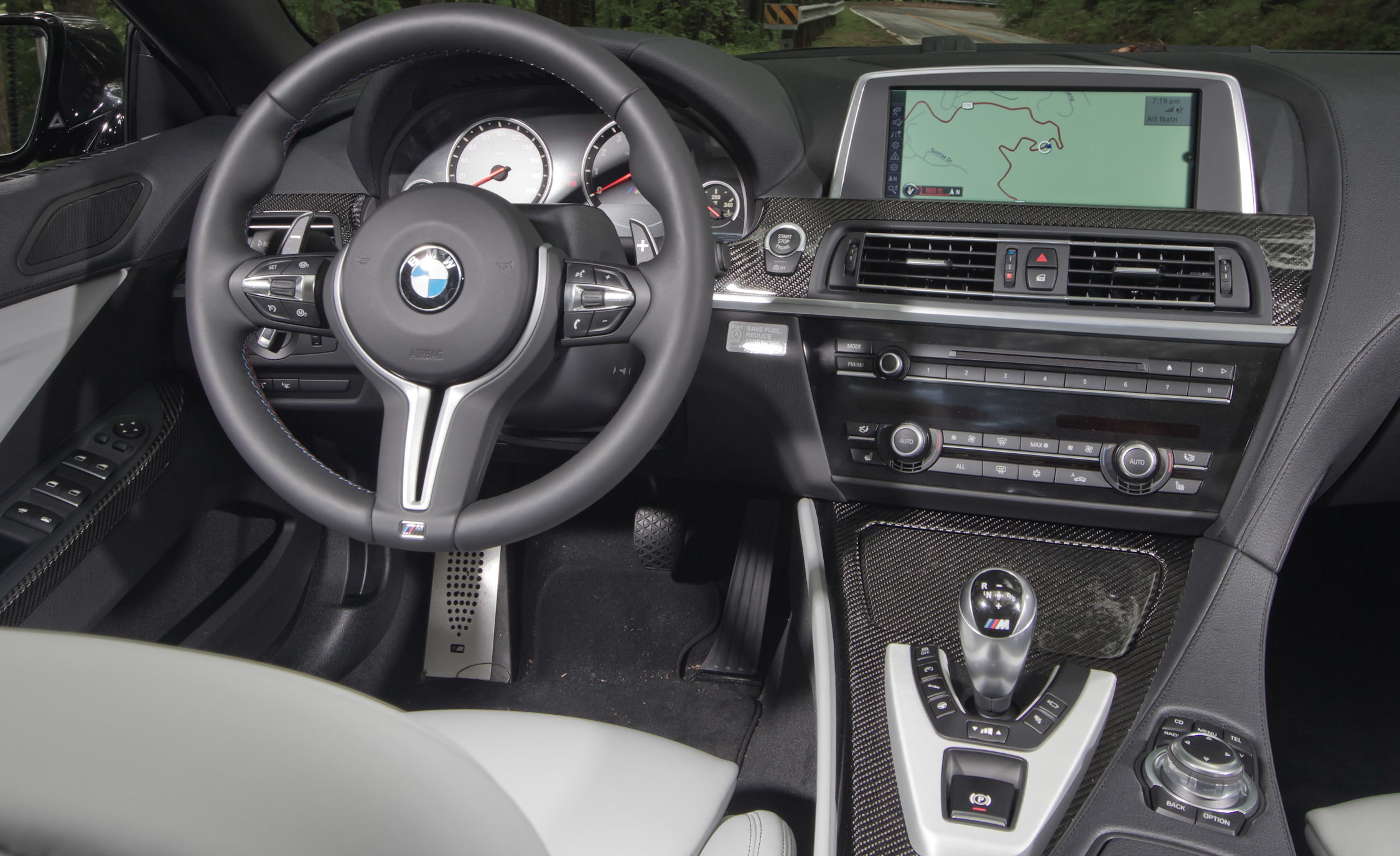 2012 BMW M6 Convertible Interior Driver Cockpit Steering And Dash (Photo 11 of 30)