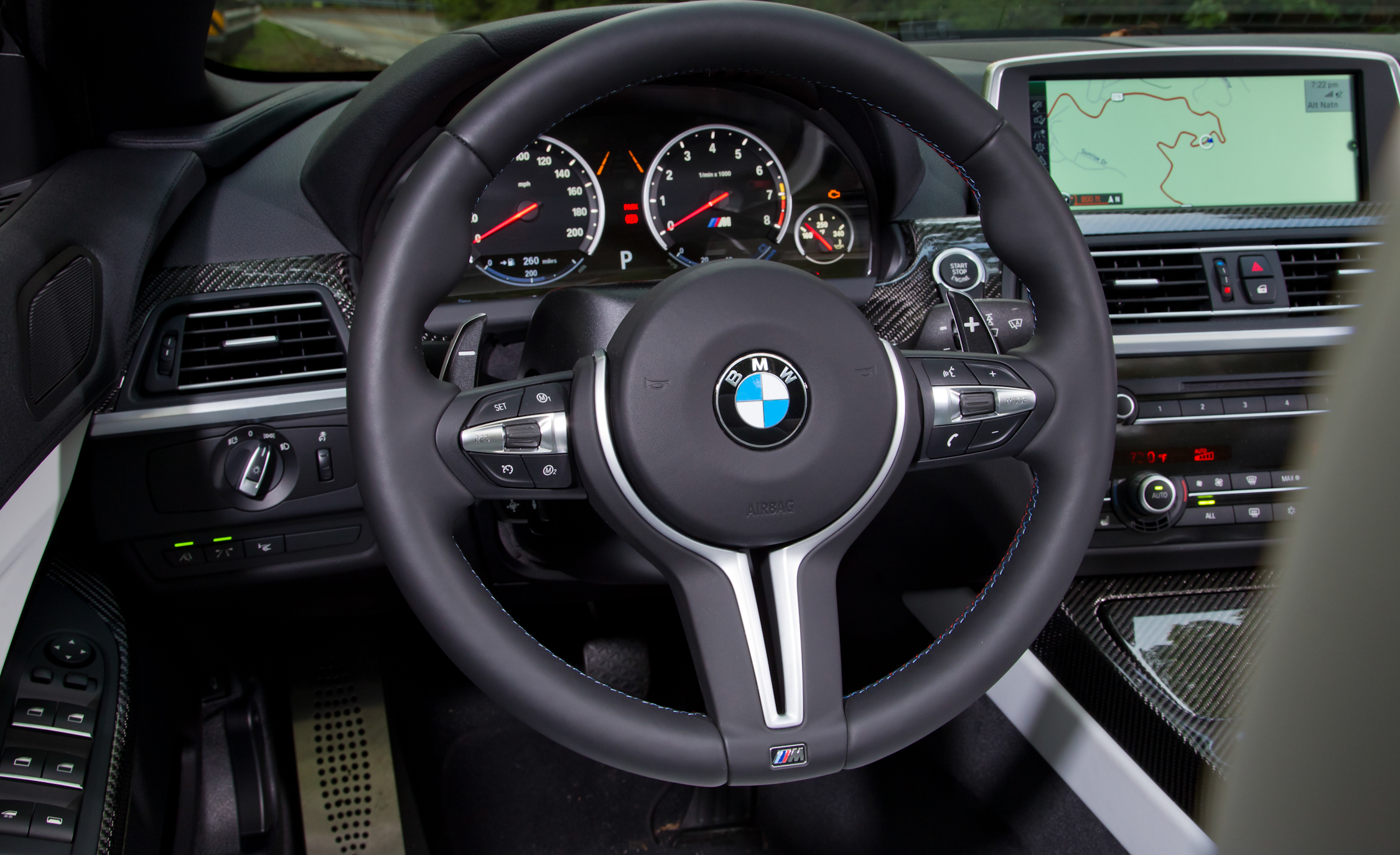 2012 BMW M6 Convertible Interior Driver Steering (Photo 12 of 30)
