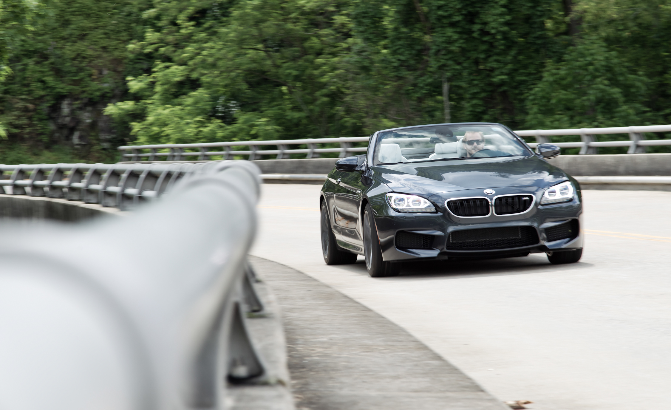 2012 BMW M6 Convertible Test Drive Front (Photo 19 of 30)